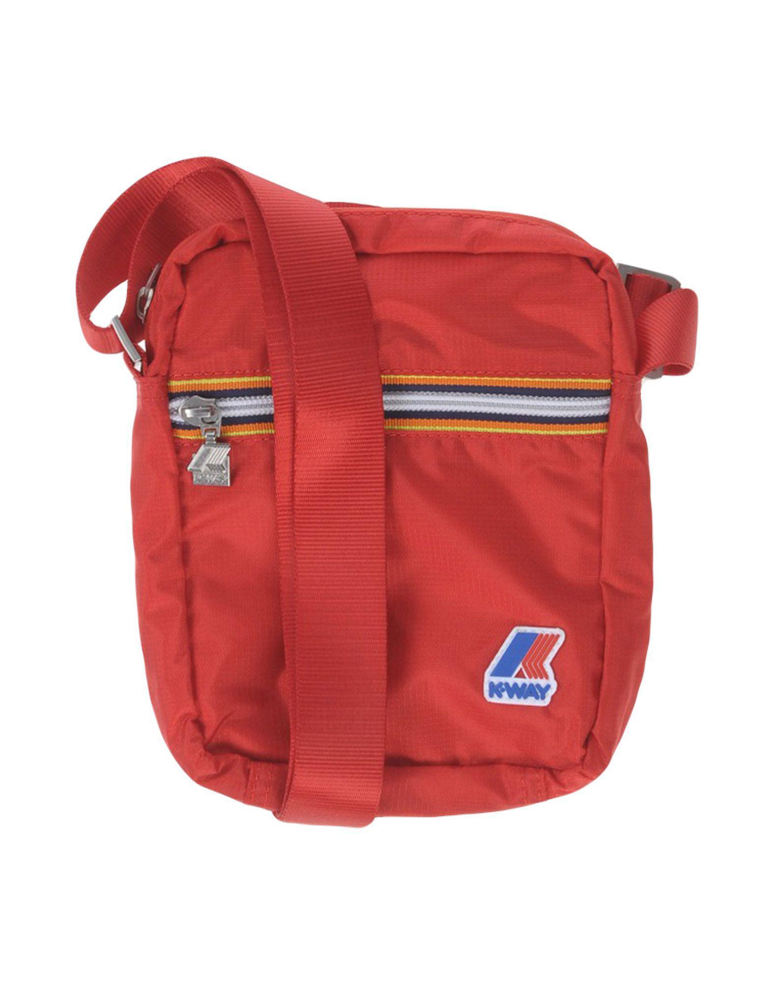 K-Way Cross-body Bag in Red for Men - Lyst f073aa72a29f6