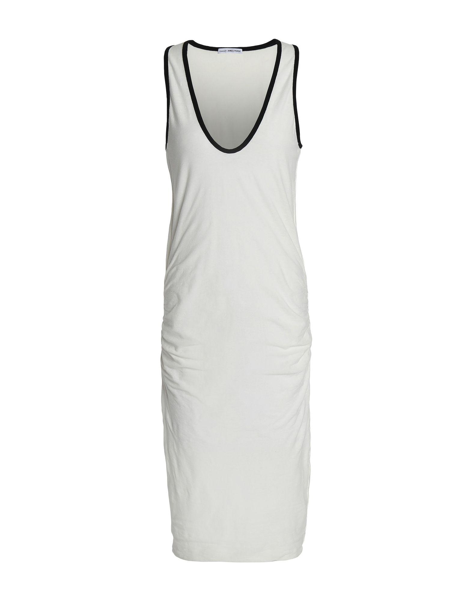 74f1aa52d29 James Perse 3 4 Length Dress in White - Save 27% - Lyst