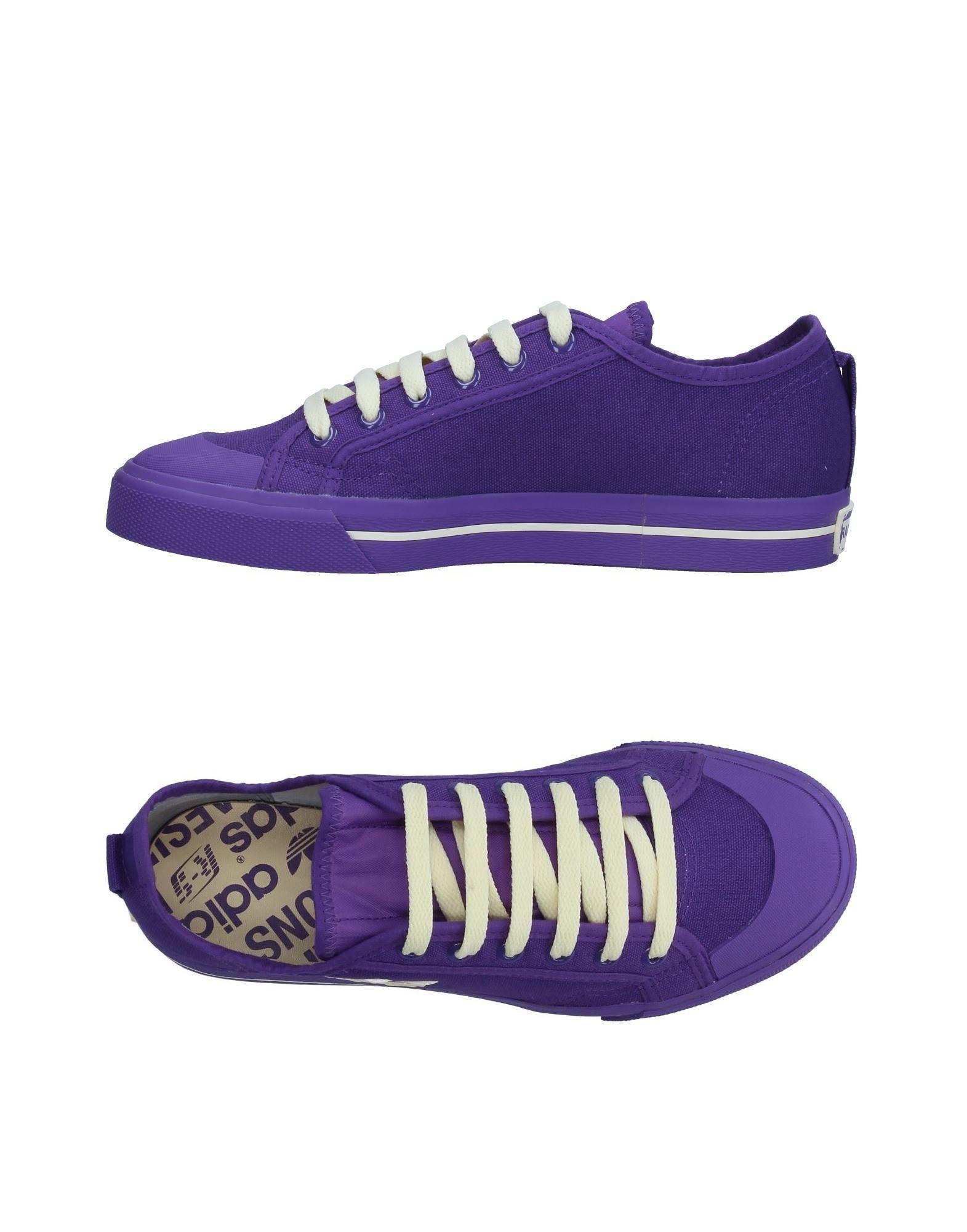 da raf simons lyst adidas basso al massimo & scarpe viola per gli uomini.