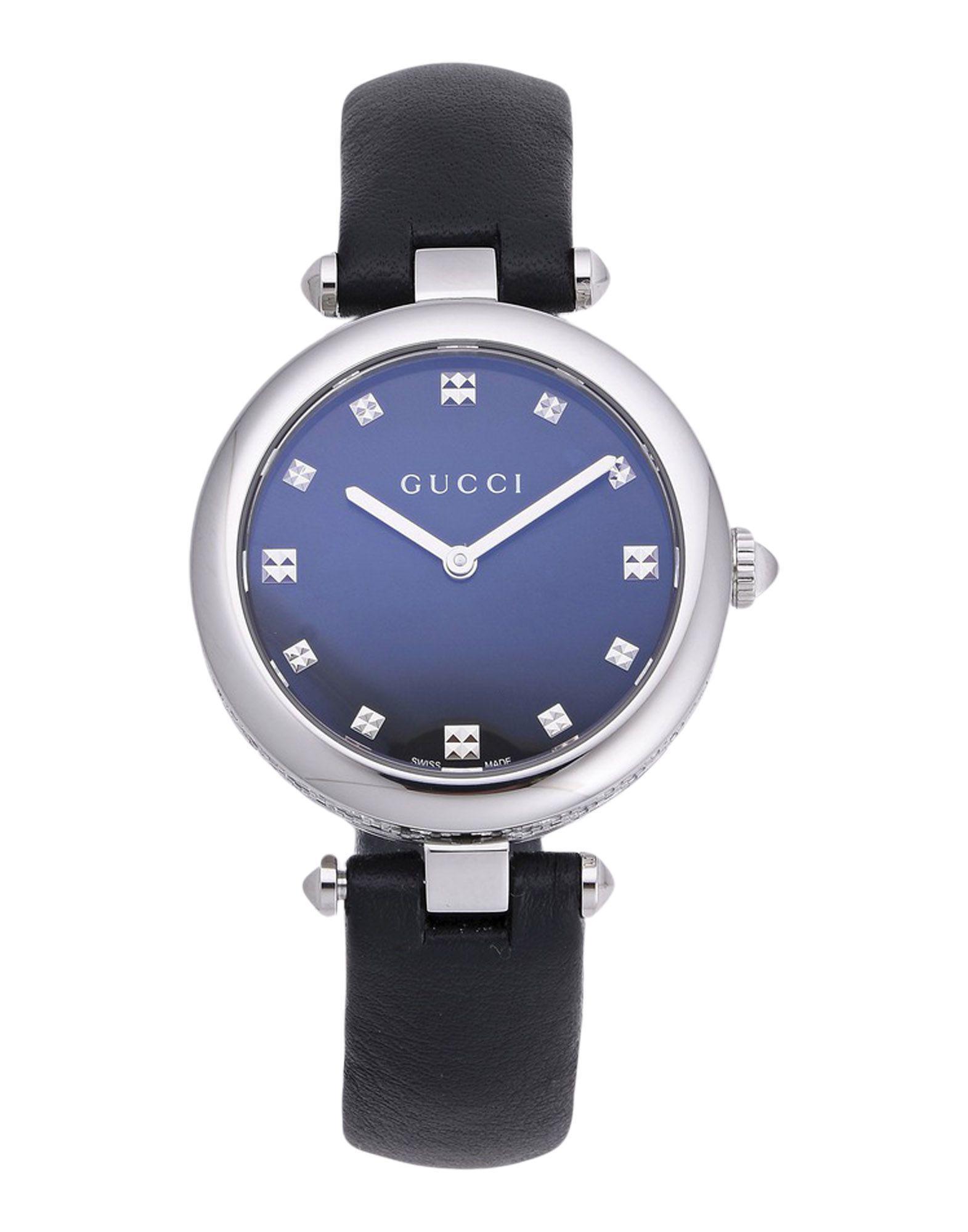 d1a04cf4850 Gucci Wrist Watch in Black - Lyst