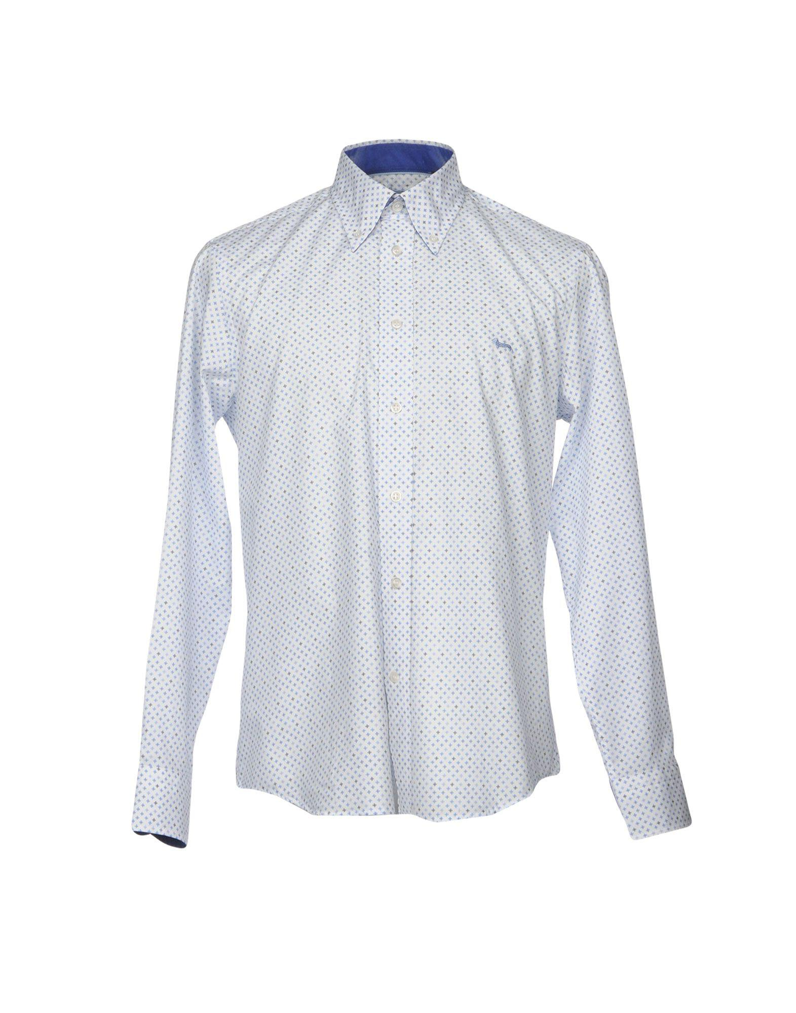 efc5df53 Lyst - Harmont & Blaine Shirts in White for Men