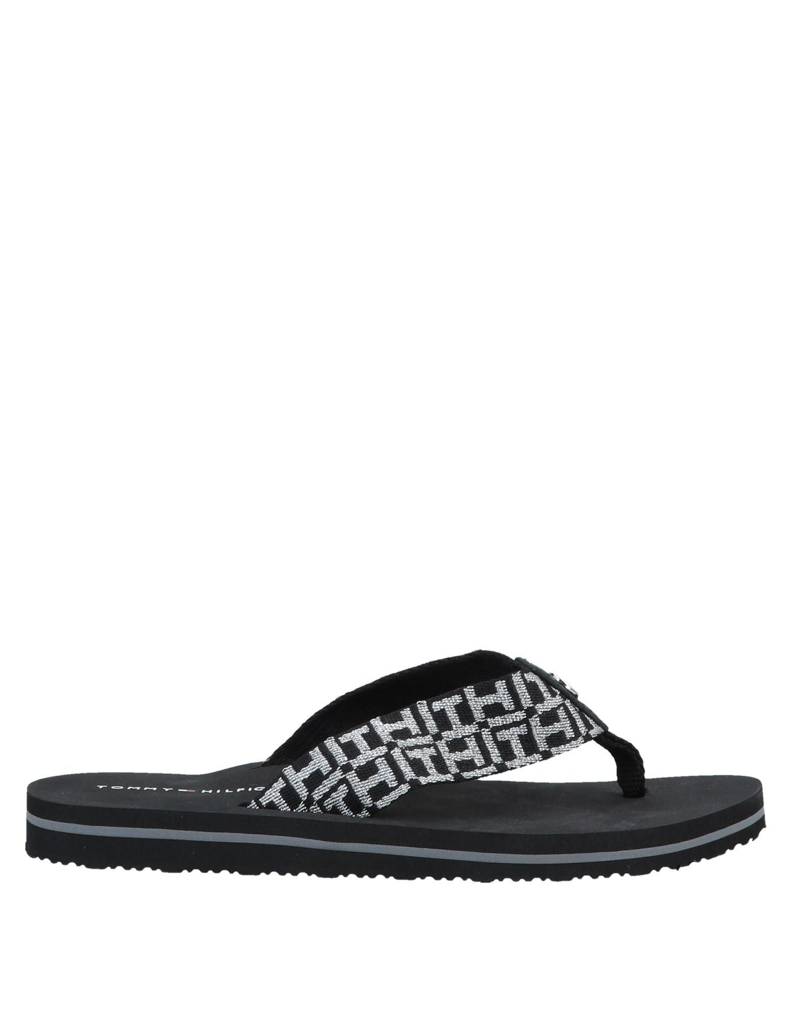 official photos aaa4a 00fd5 tommy-hilfiger-Black-Toe-Strap-Sandal.jpeg