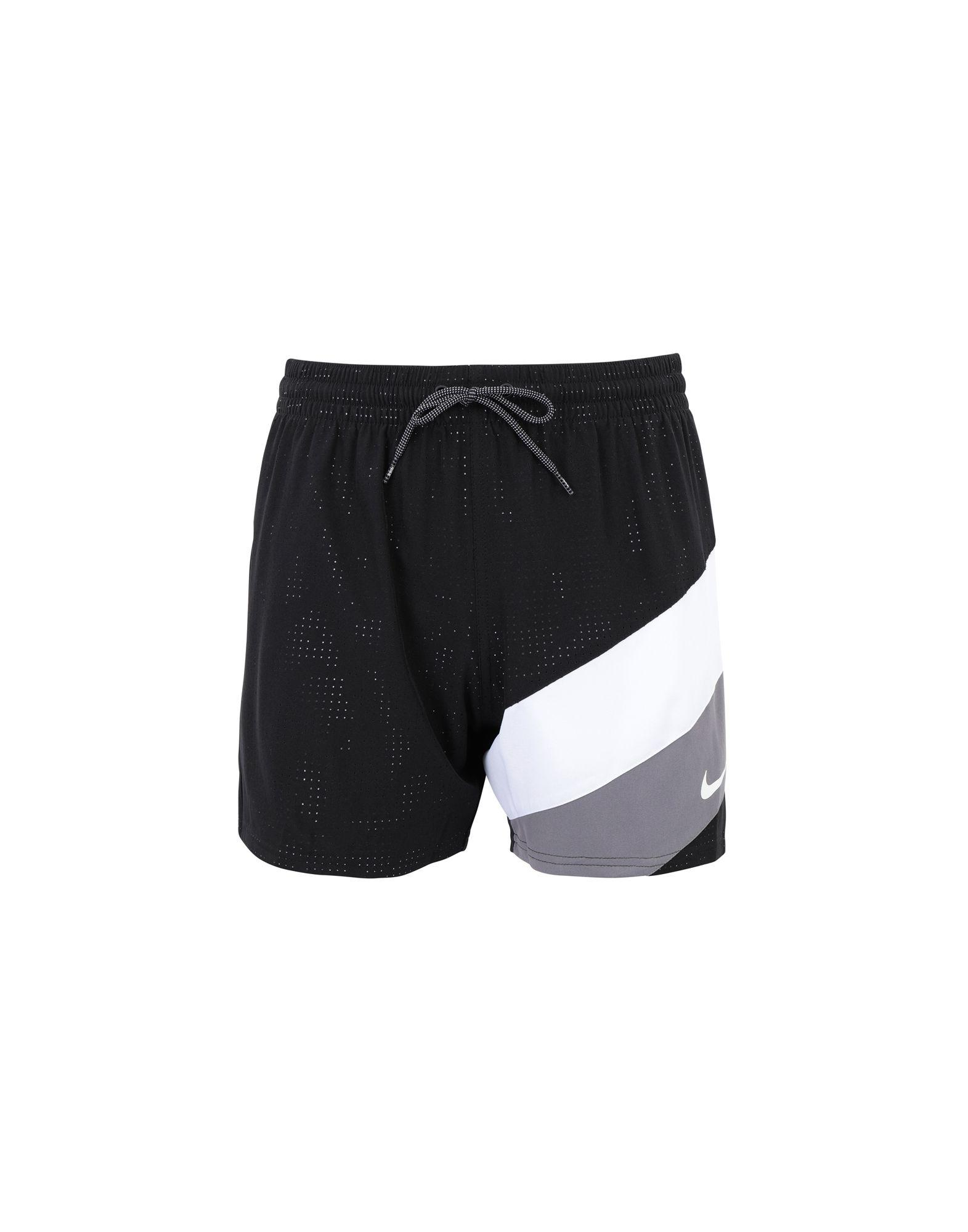 7e8cb7d0 Nike - Black Beach Shorts And Pants for Men - Lyst. View fullscreen