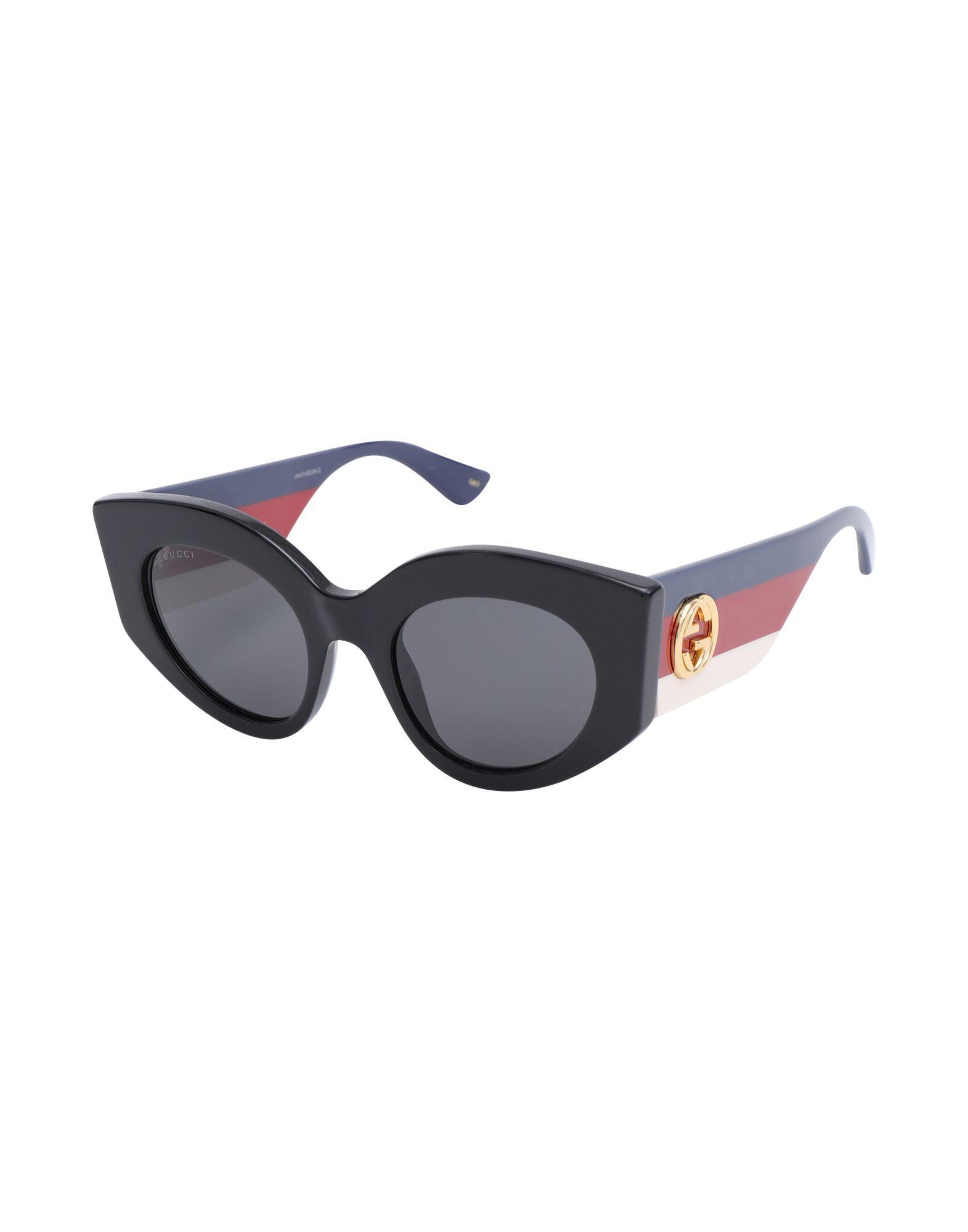 99df954bbc2 Gucci - Black Sunglasses - Lyst. View fullscreen
