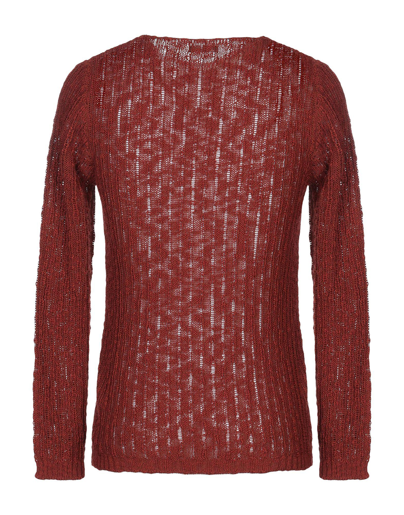 Lyst - Officina 36 Sweater in Red for Men 89eae882a