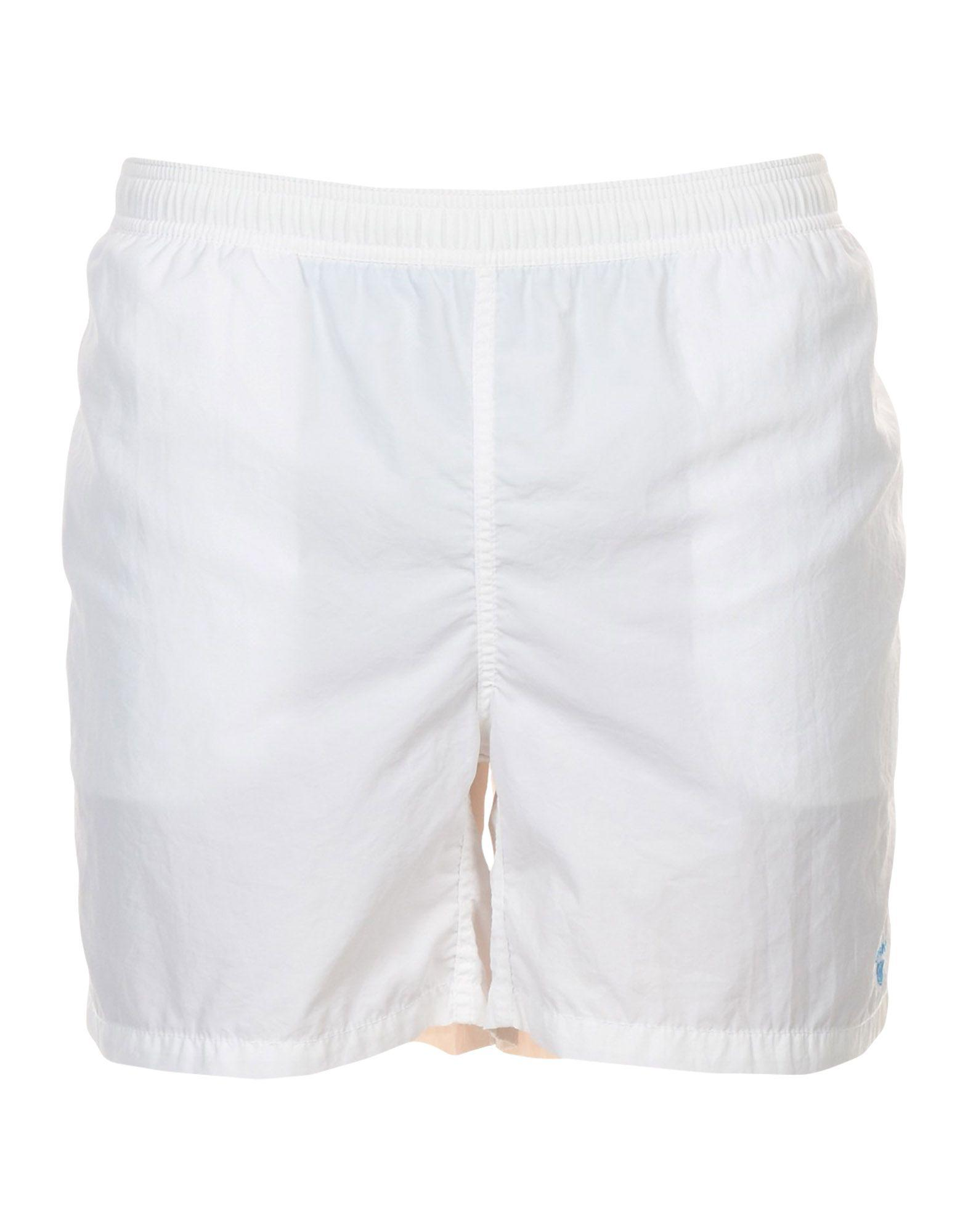 4e5a38ed1082a GANT Swim Trunks in White for Men - Lyst