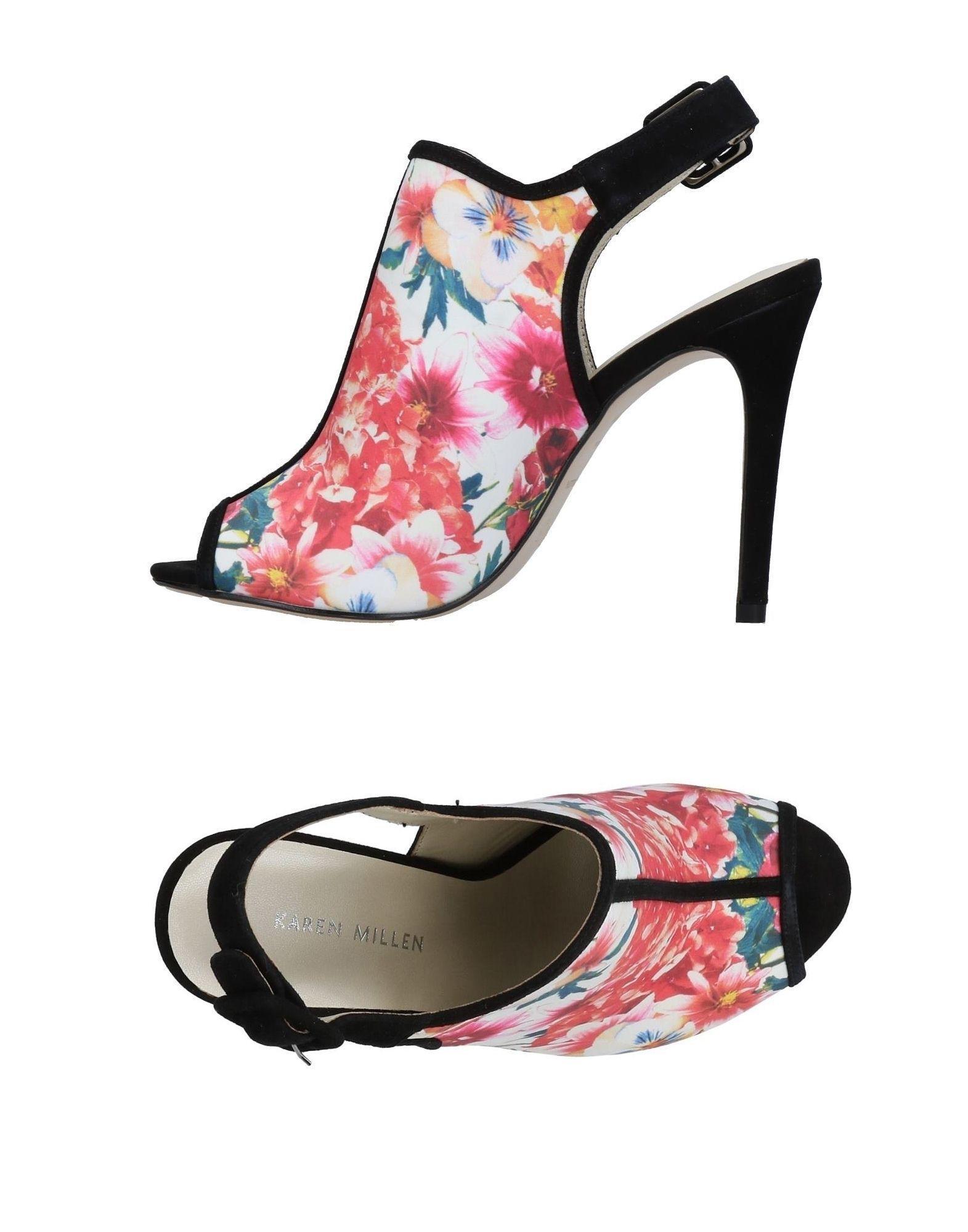 5e8f20d0ffe Karen Millen - White Sandals - Lyst. View fullscreen