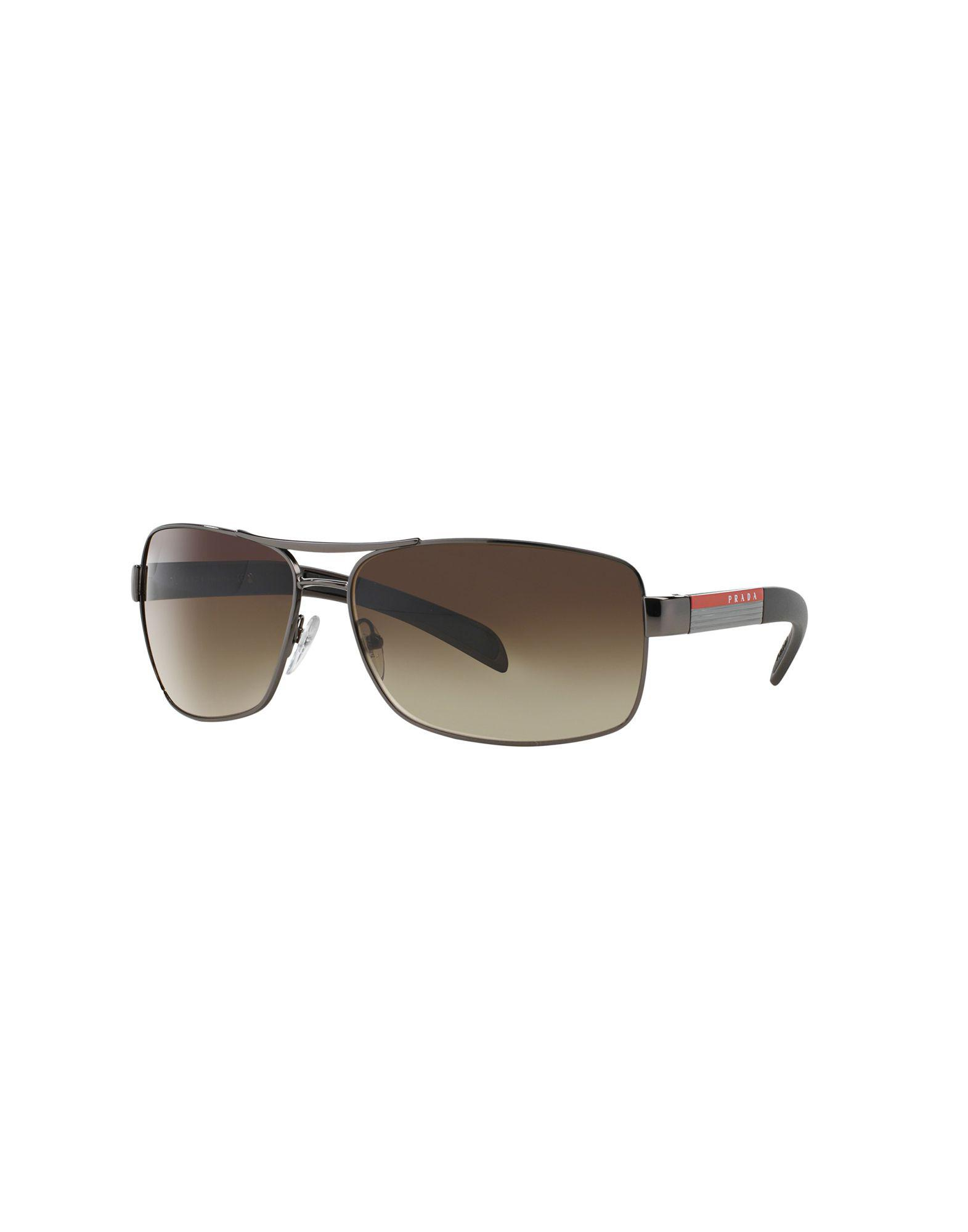 Sunglasses - PR 0PR 04TS 55 7S05D1 - brown, gold, blue - Sunglasses for ladies Prada
