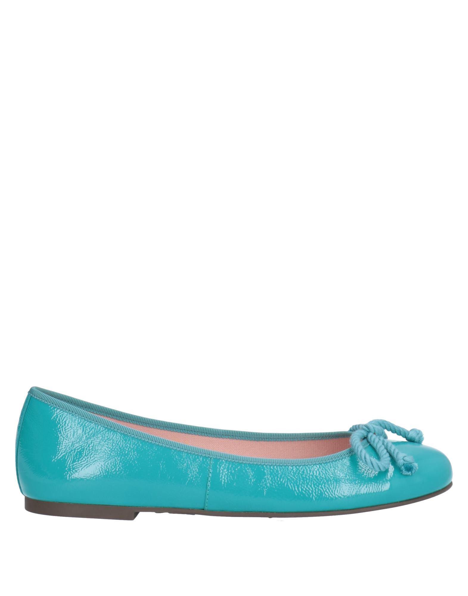 e1d4fa916ce Pretty Ballerinas - Blue Ballet Flats - Lyst. View fullscreen