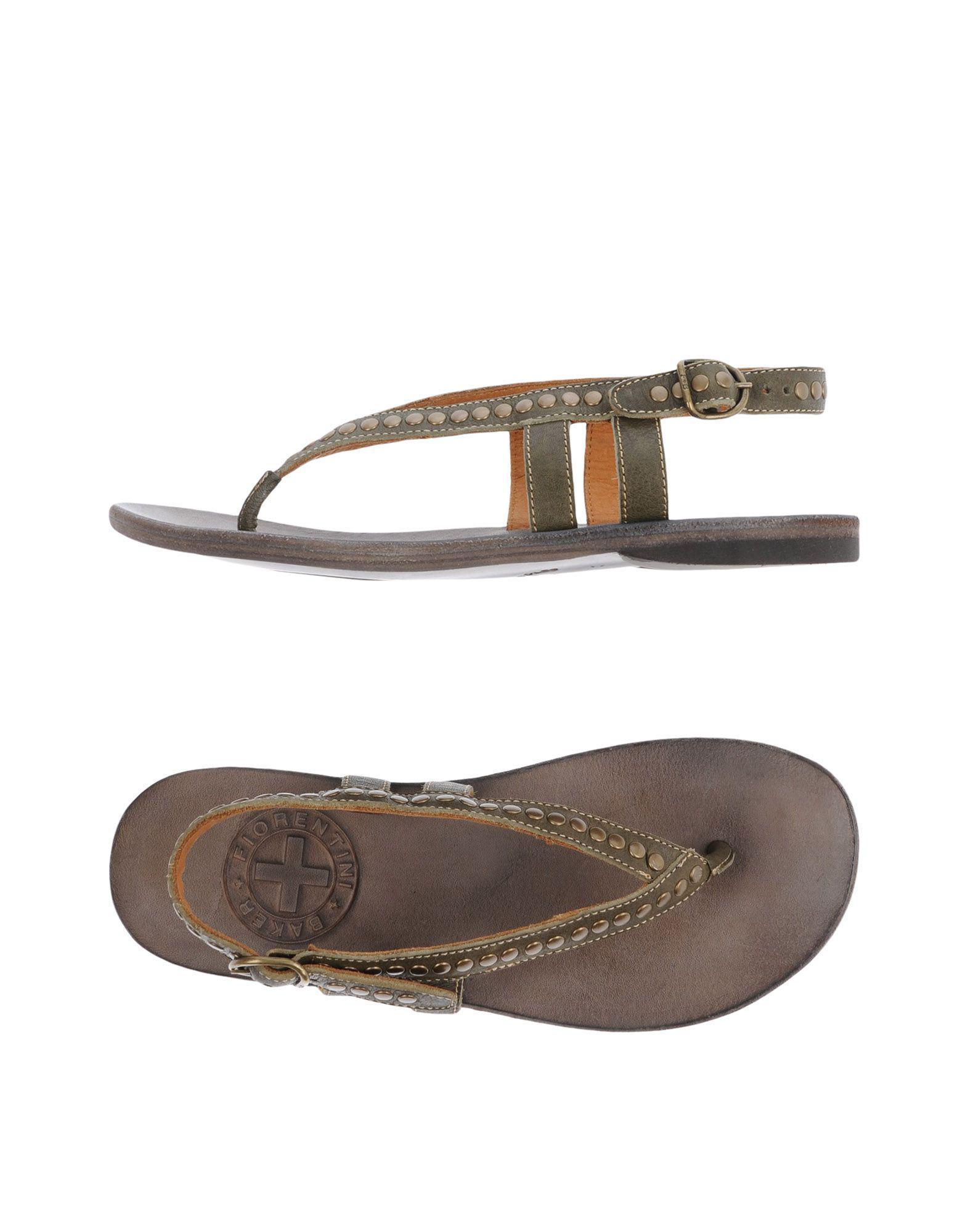 FOOTWEAR - Toe post sandals Fiorentini + Baker En7Kv