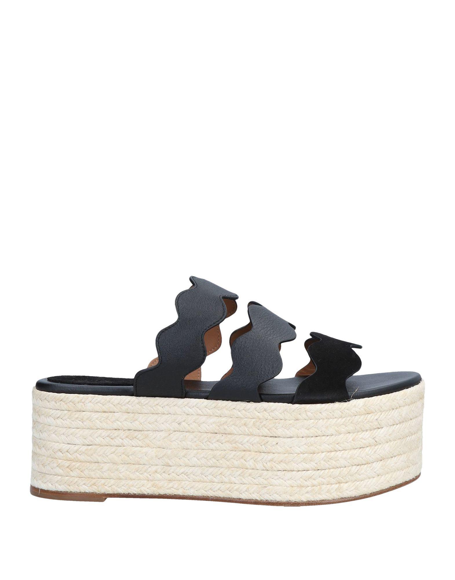 6e289e18576 Lyst - Chloé Sandals in Black