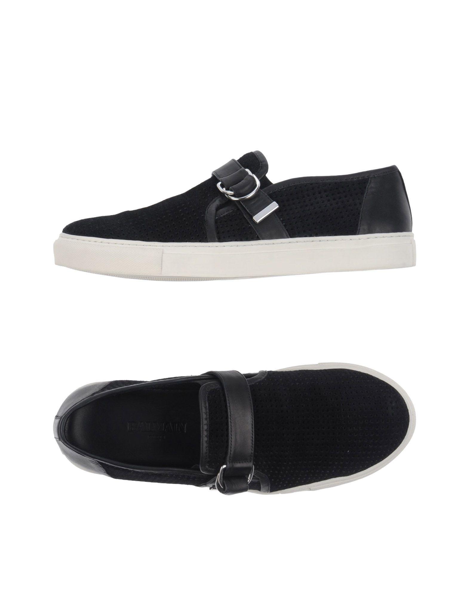 09253080ce Lyst - Balmain Low-tops & Sneakers in Black for Men