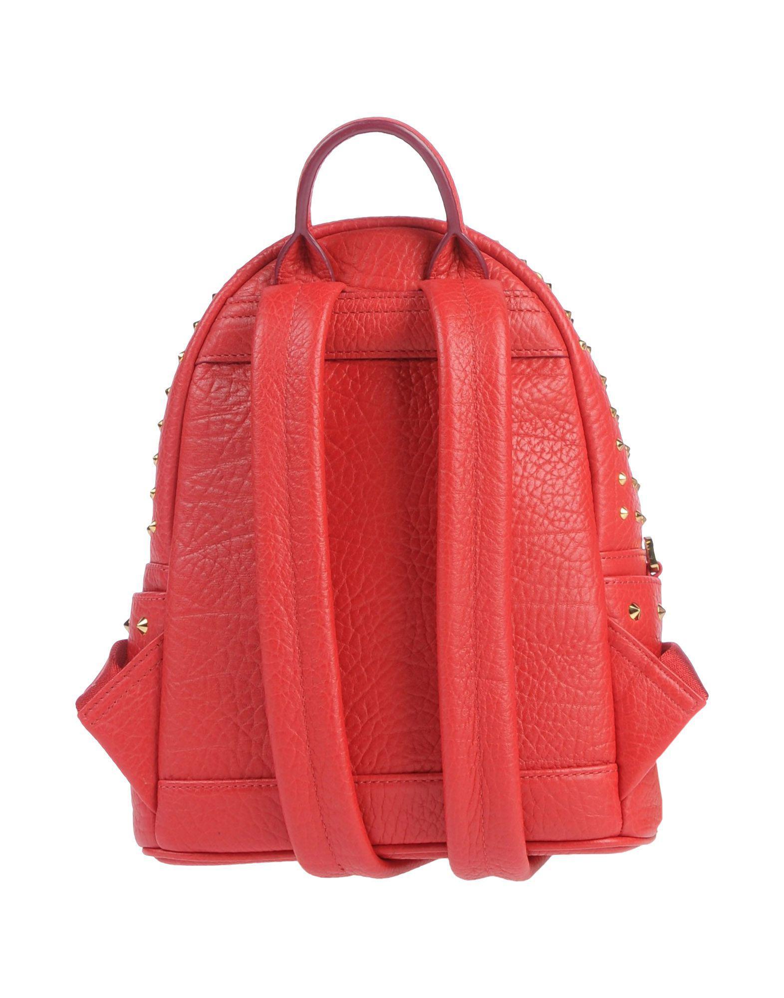 Lyst - Sacs à dos et bananes MCM en coloris Rouge 176e4a31b7e