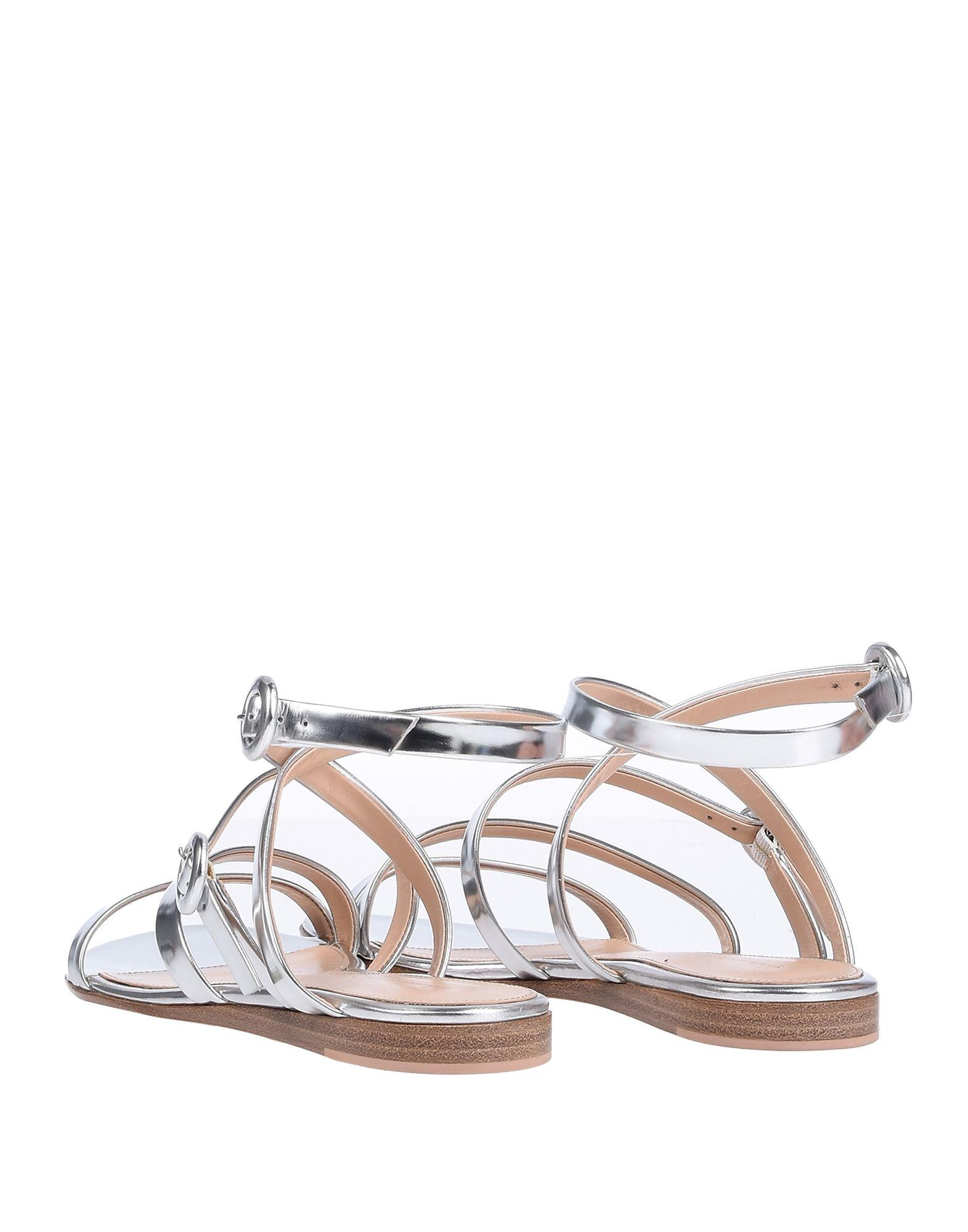 a25f78496 Lyst - Gianvito Rossi Sandals in Metallic - Save 72%