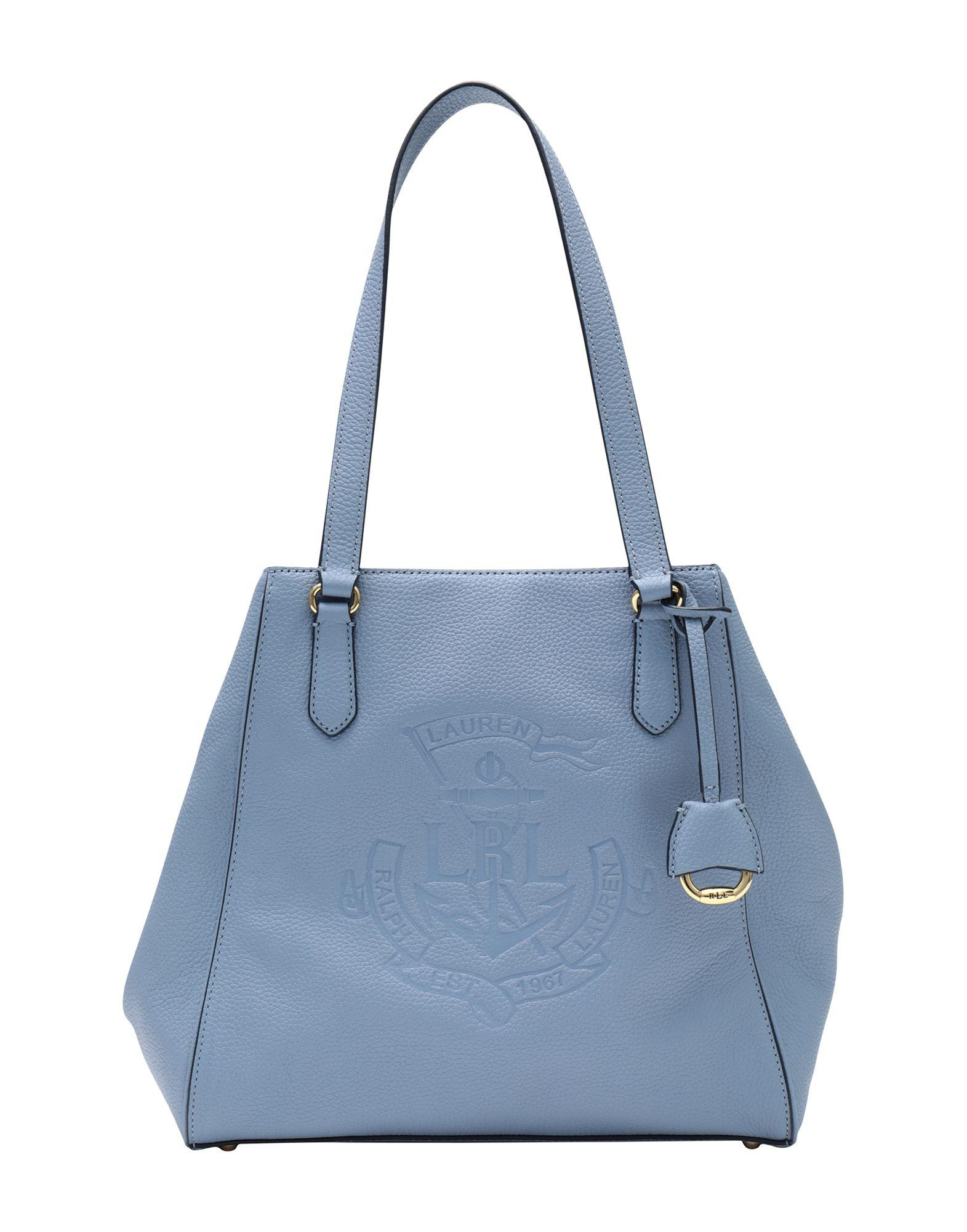 eb549bd26f Lauren by Ralph Lauren. Sac à main femme de coloris bleu