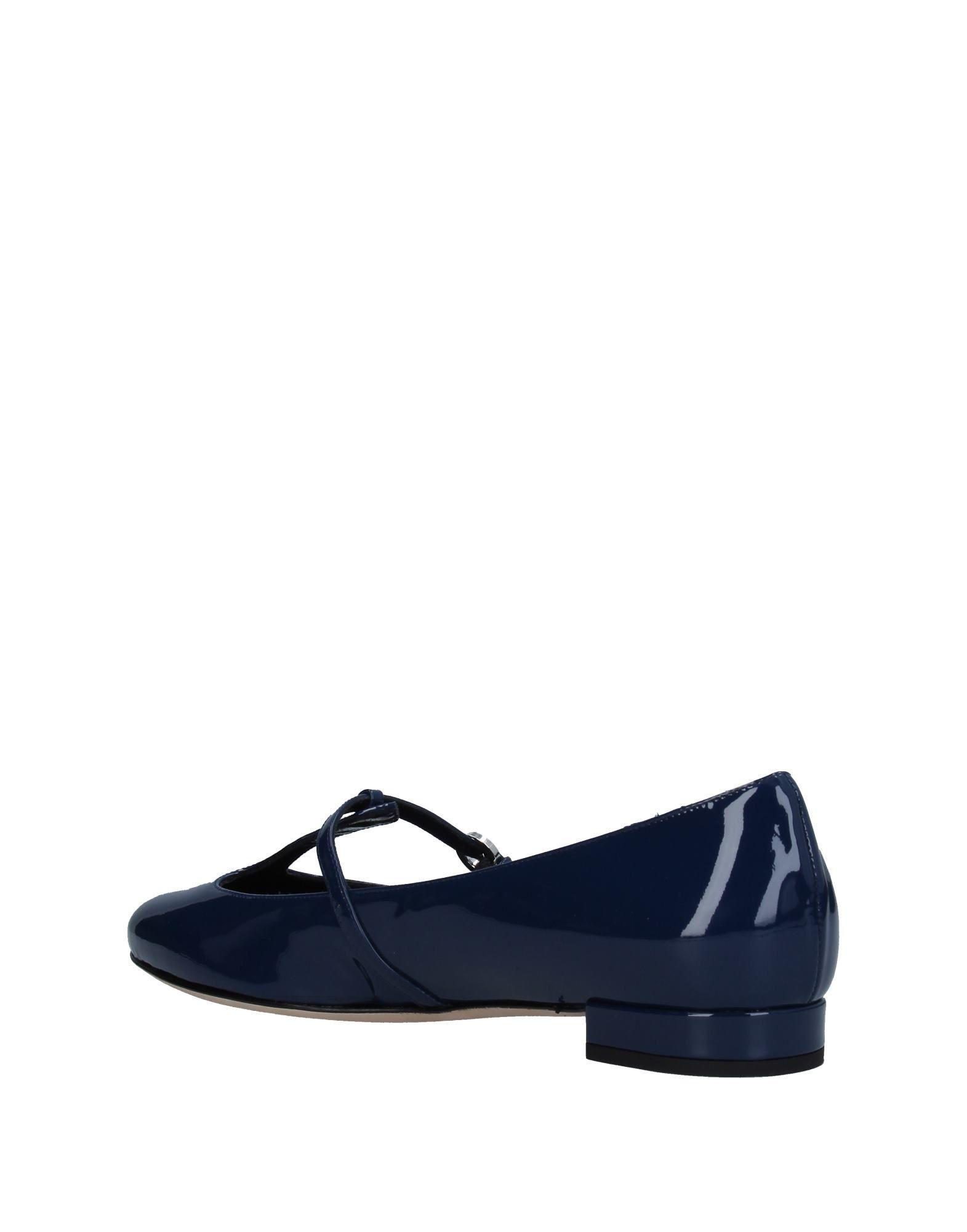 Flats Flats Rodo Lyst Blue Blue Blue in Ballet 8qzOz5fwx