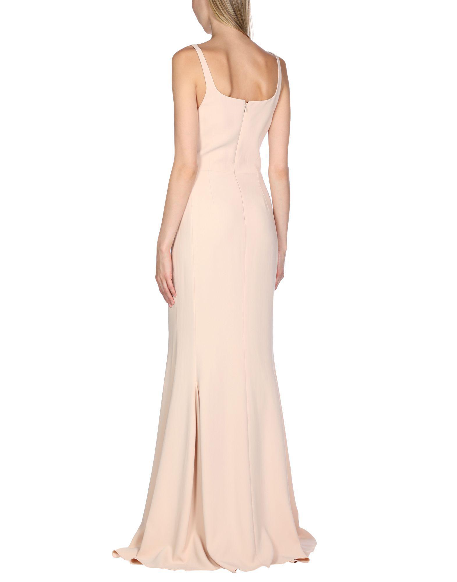 7bdeb3ffb8f Lyst - Stella McCartney Long Dress in Pink