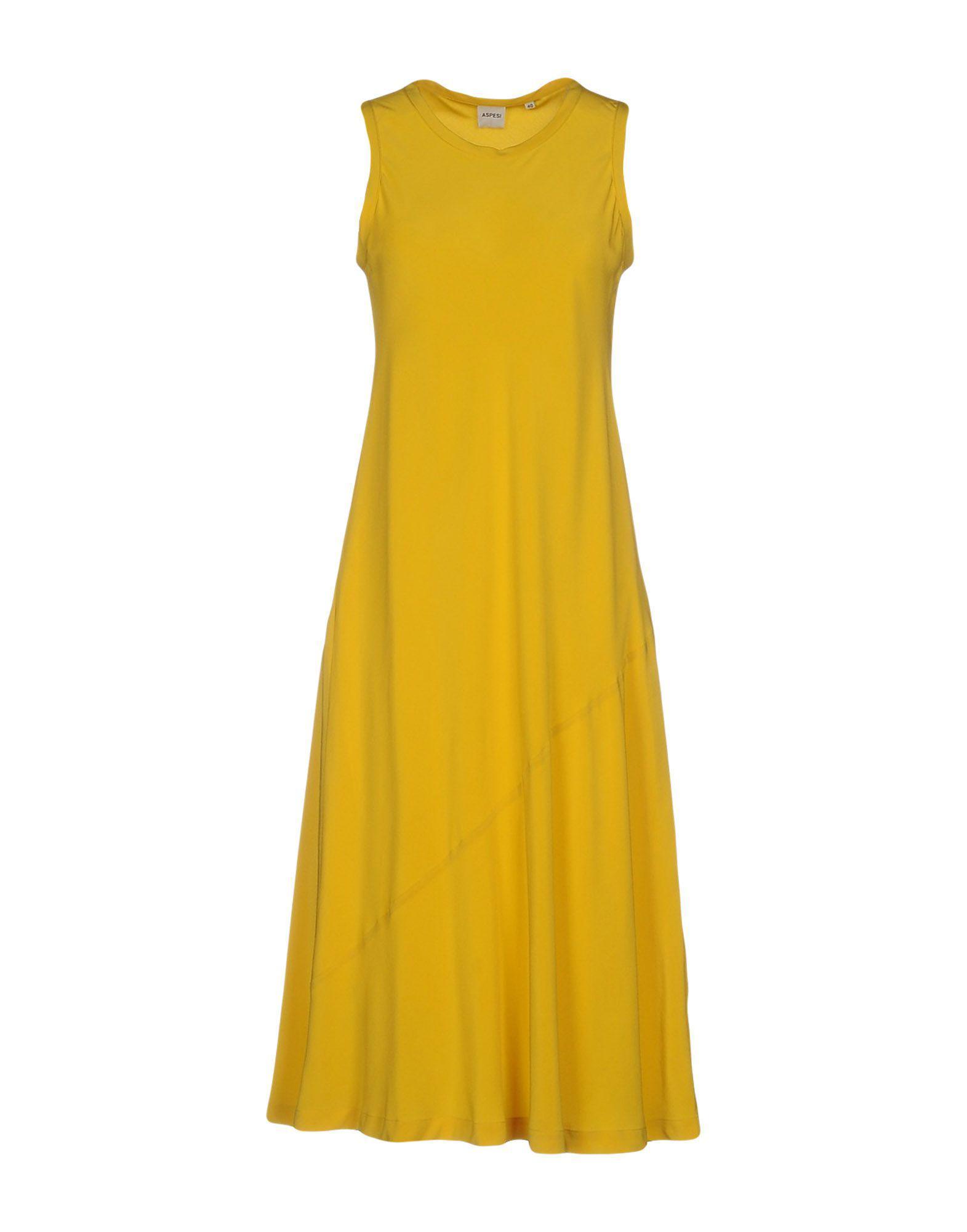 DRESSES - 3/4 length dresses Aspesi km8NJwO