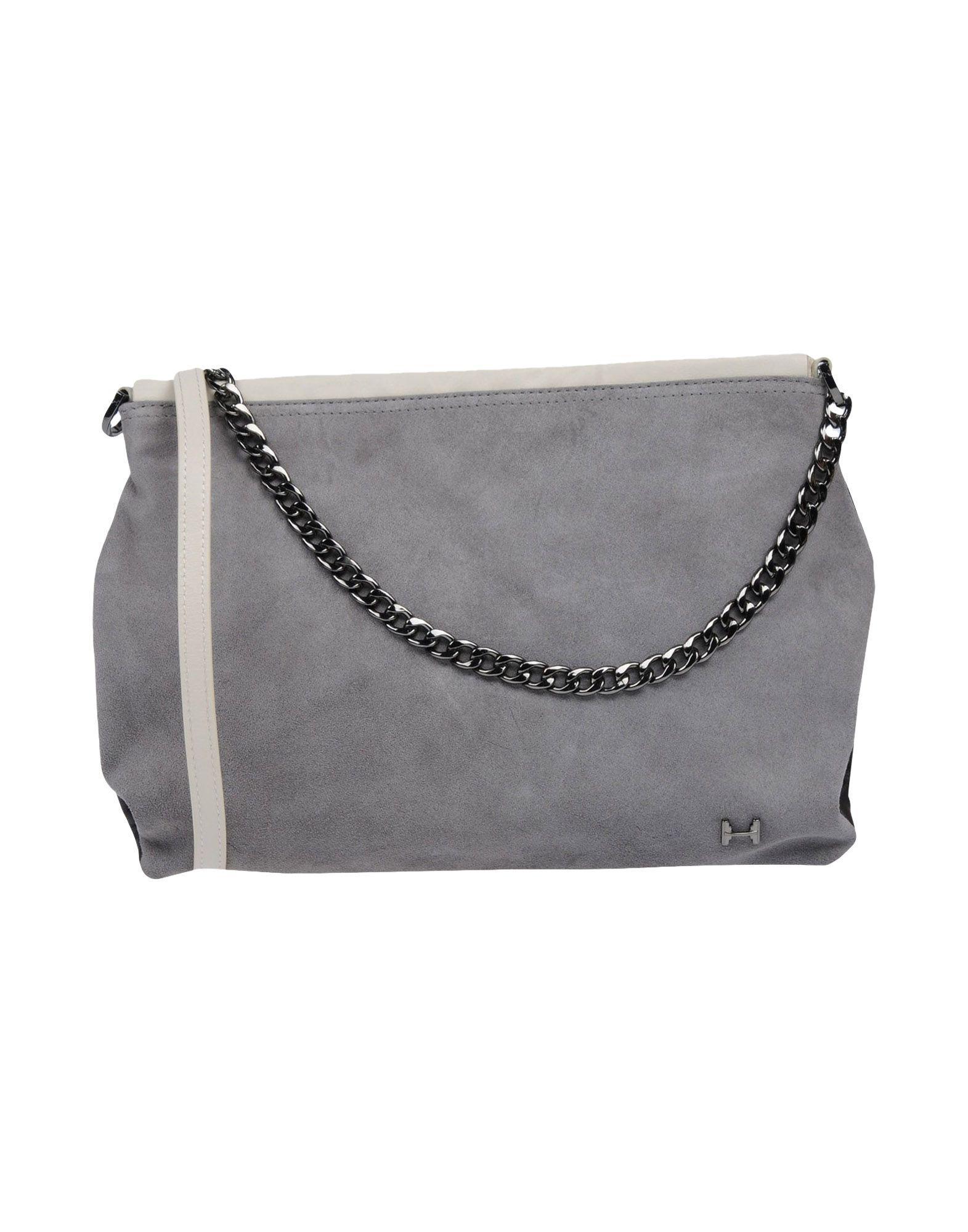 e435babf5b Lyst - Halston Handbag in Gray