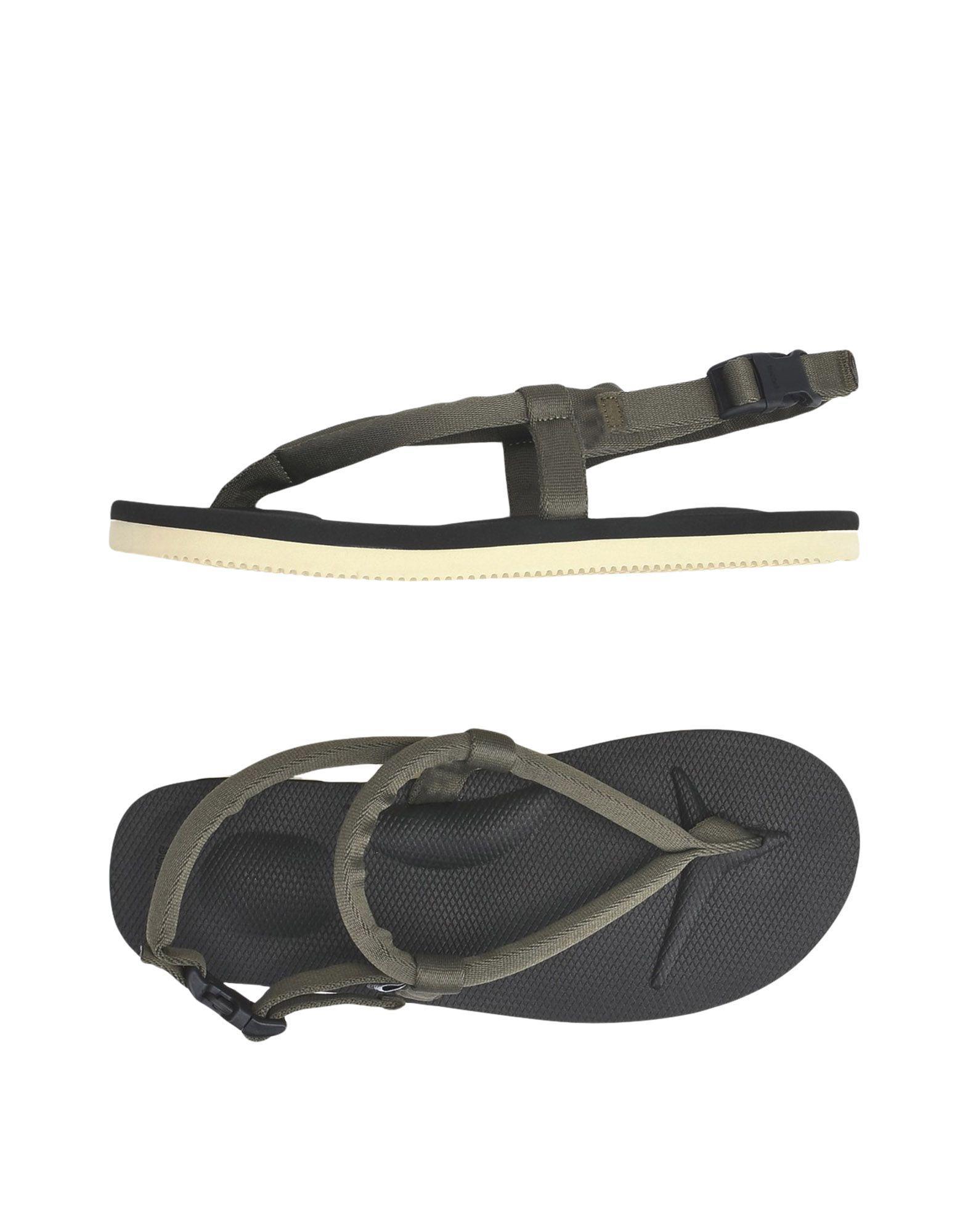 900a0b07cb58 Suicoke Toe Strap Sandals in Green for Men - Lyst