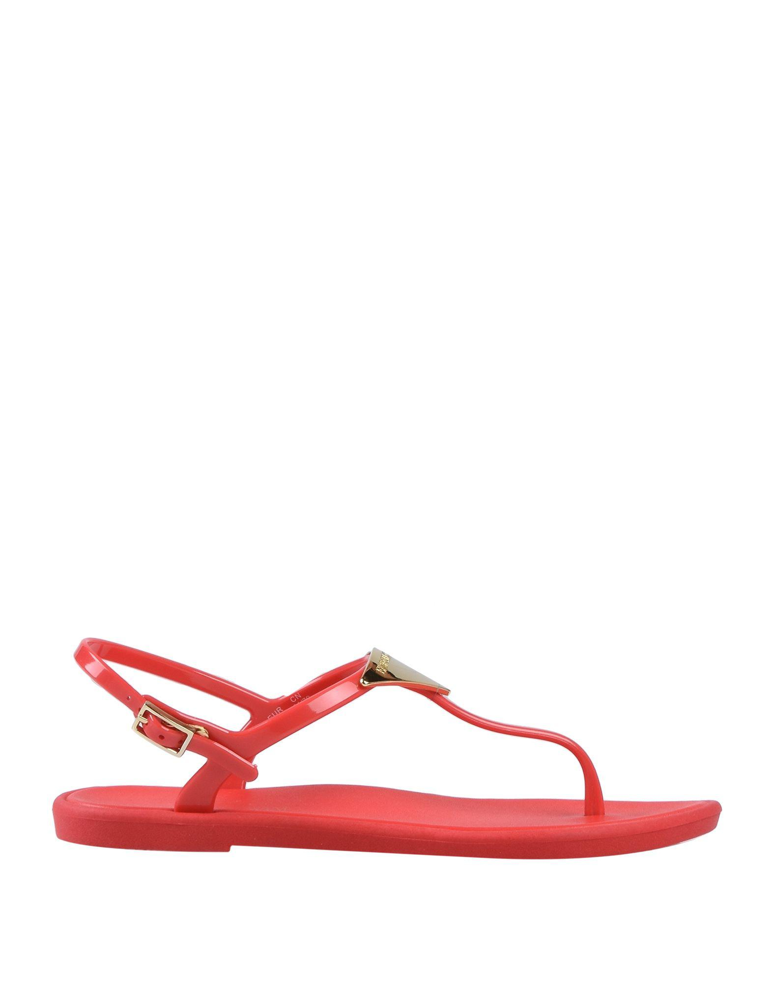 d280d499827d8 Lyst - Emporio Armani Sandals in Red