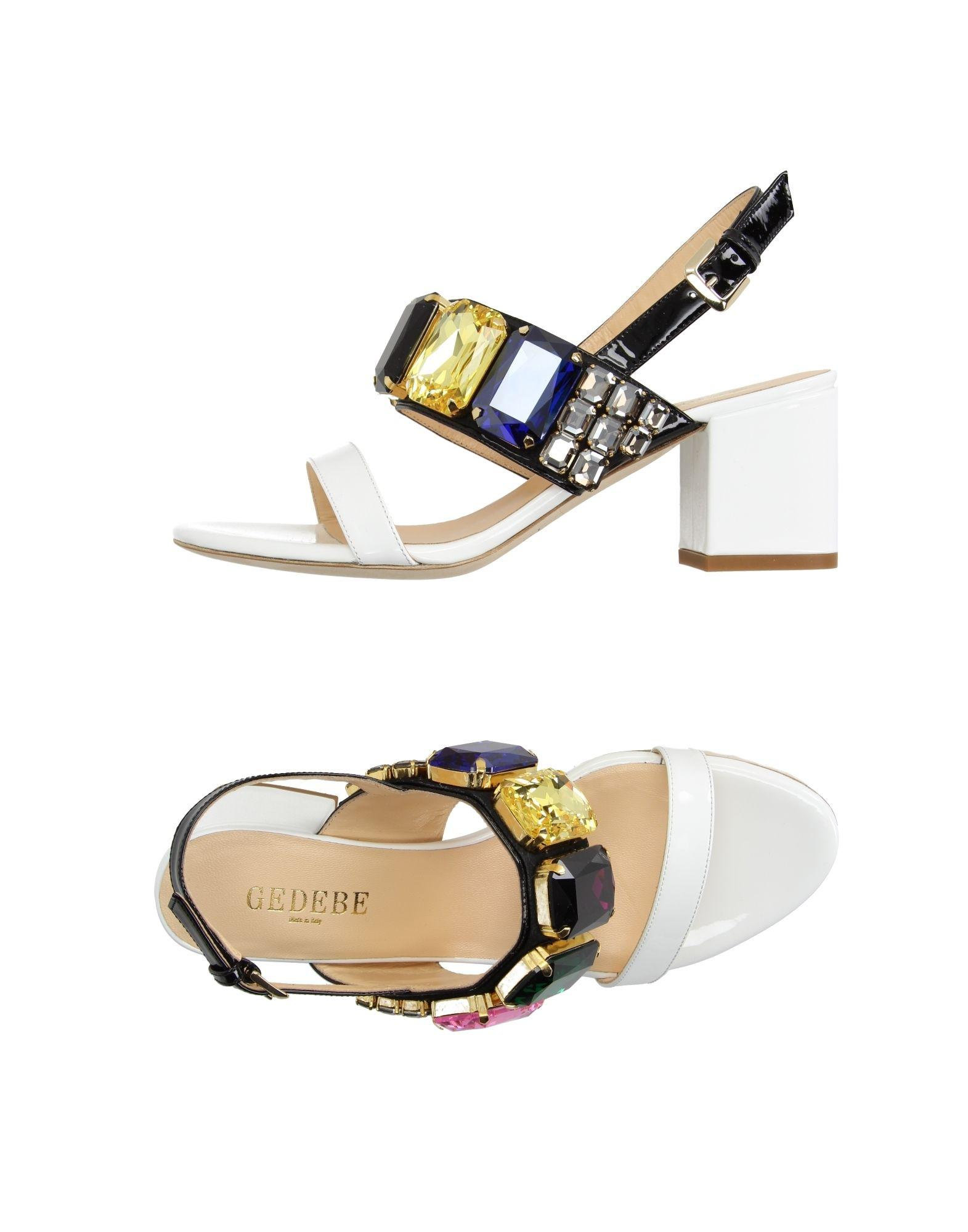 af0d07dab12 Lyst - Gedebe Sandals in White