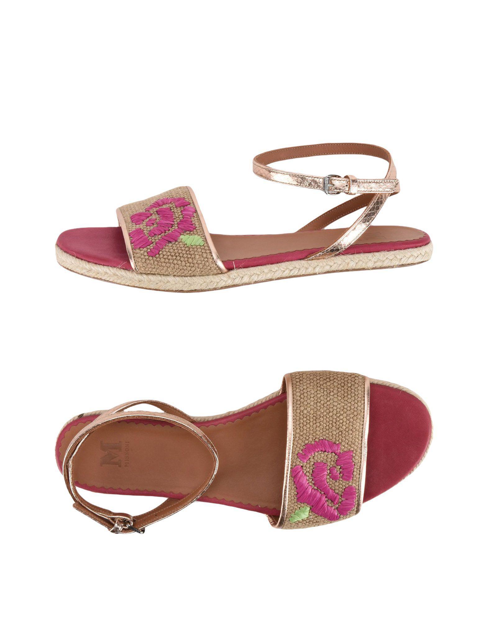 FOOTWEAR - Toe post sandals M Missoni j49xzO