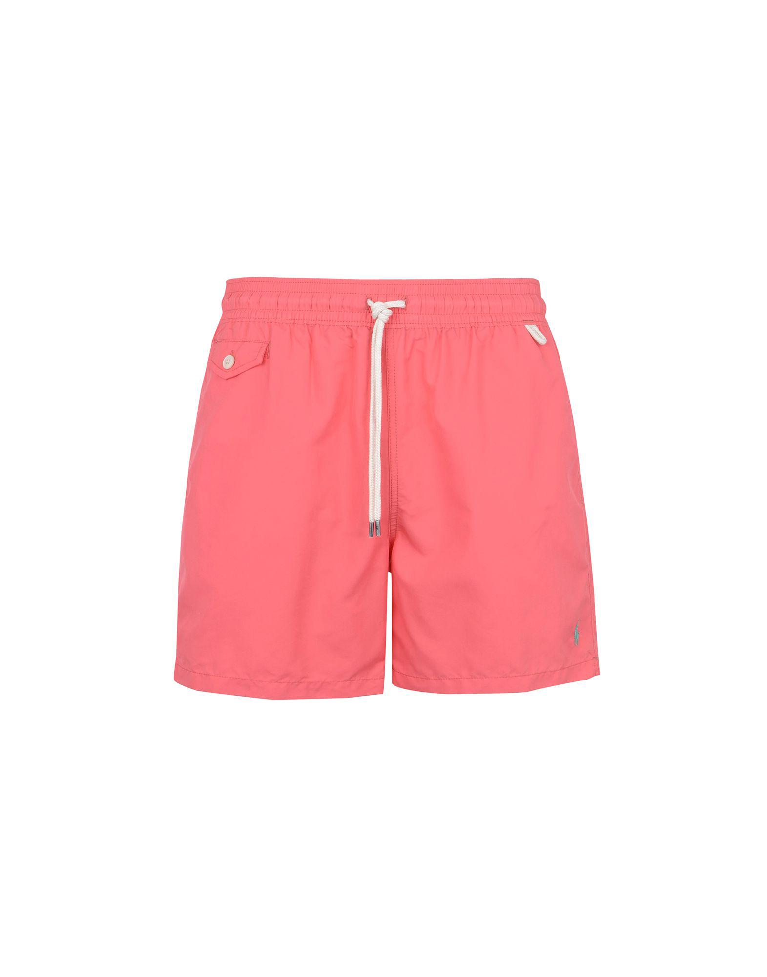 f60a9fc7d6bc3 Polo Ralph Lauren Swimming Trunks in Pink for Men - Lyst