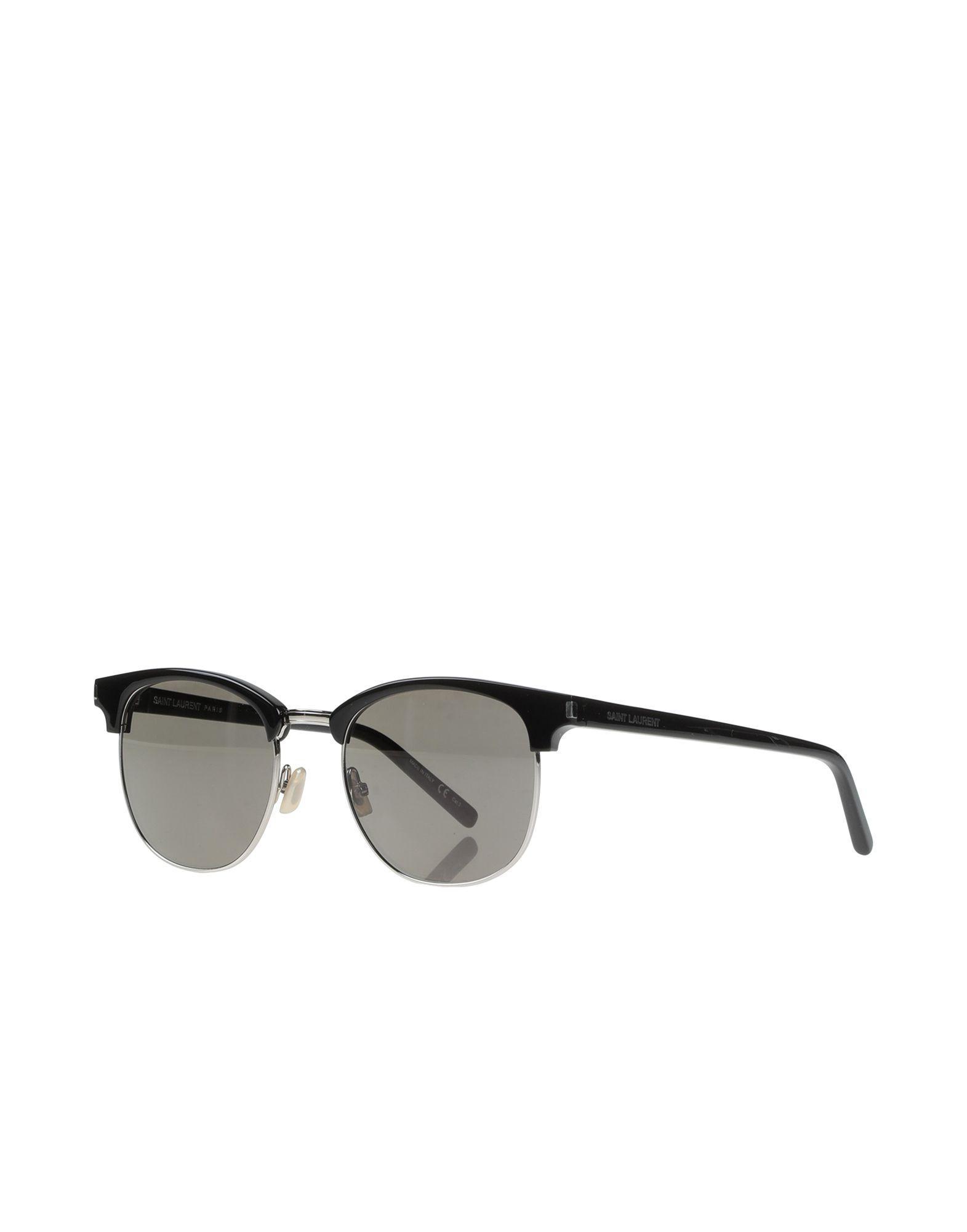 e42f5af05ae Saint Laurent - Black Sunglasses for Men - Lyst. View fullscreen