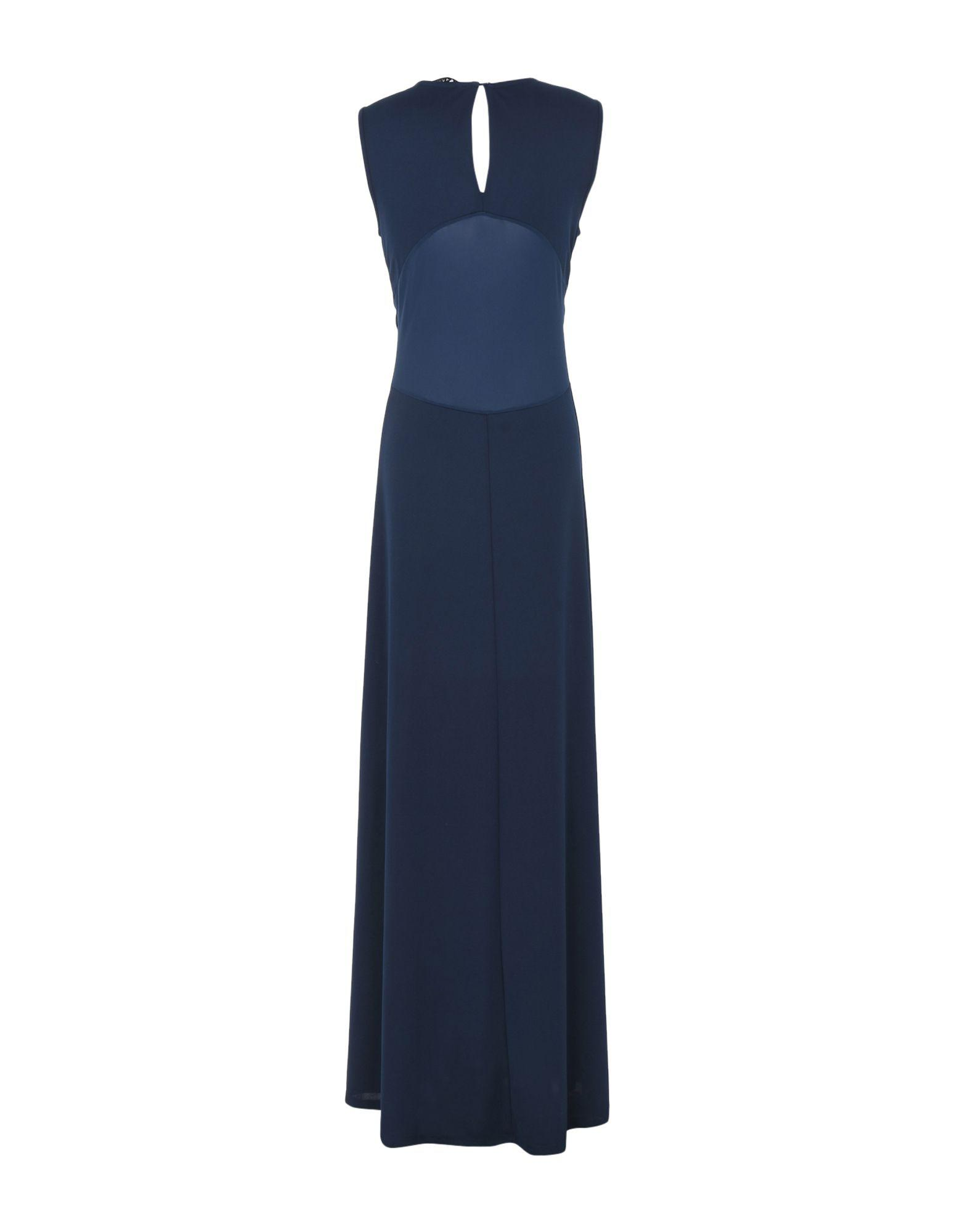 8188336a40 Lyst - Silvian Heach Long Dress in Blue