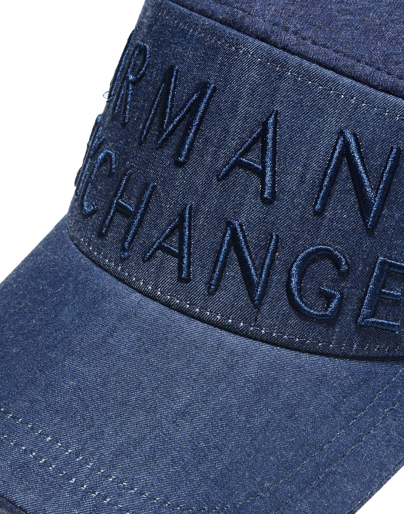 d30923f294c Lyst - Armani Exchange Hat in Blue for Men
