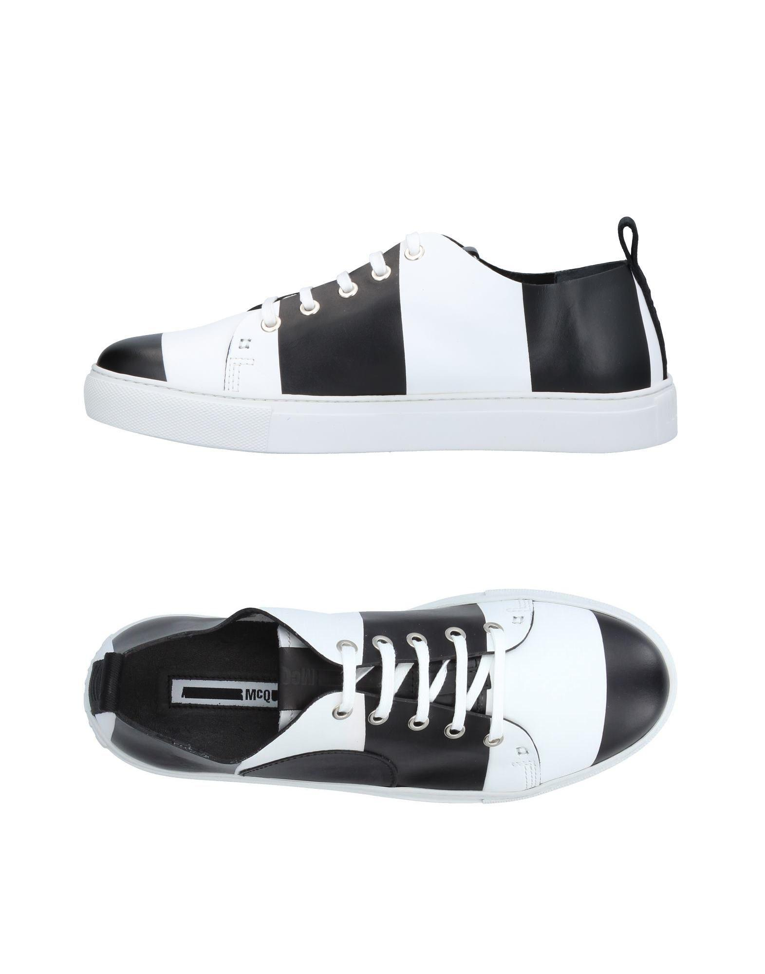 Men in White Sneakers amp; tops Alexander Mcq Low Lyst for Mcqueen vwTq4fxg