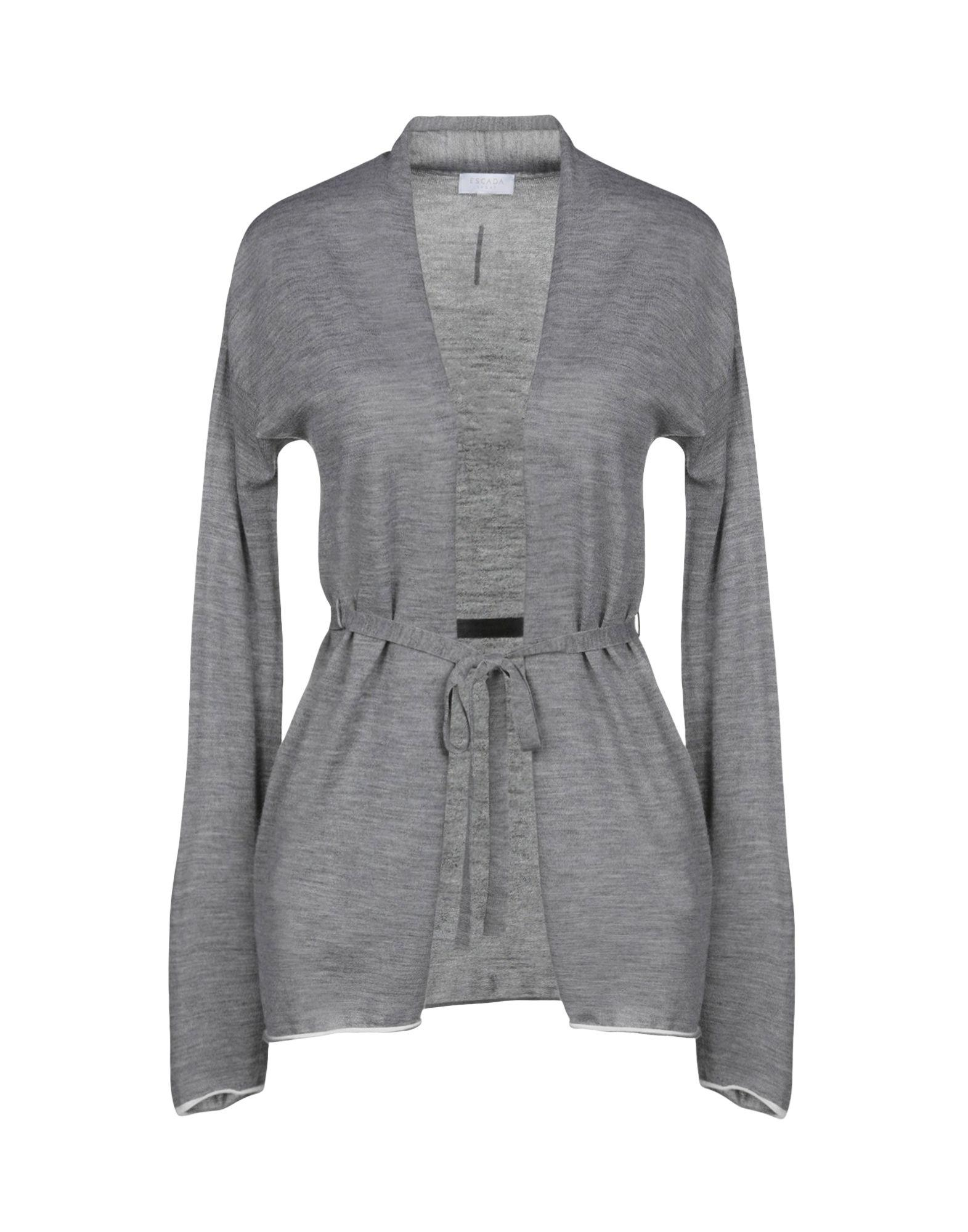 fd9f85b407 Lyst - Escada Cardigan in Gray