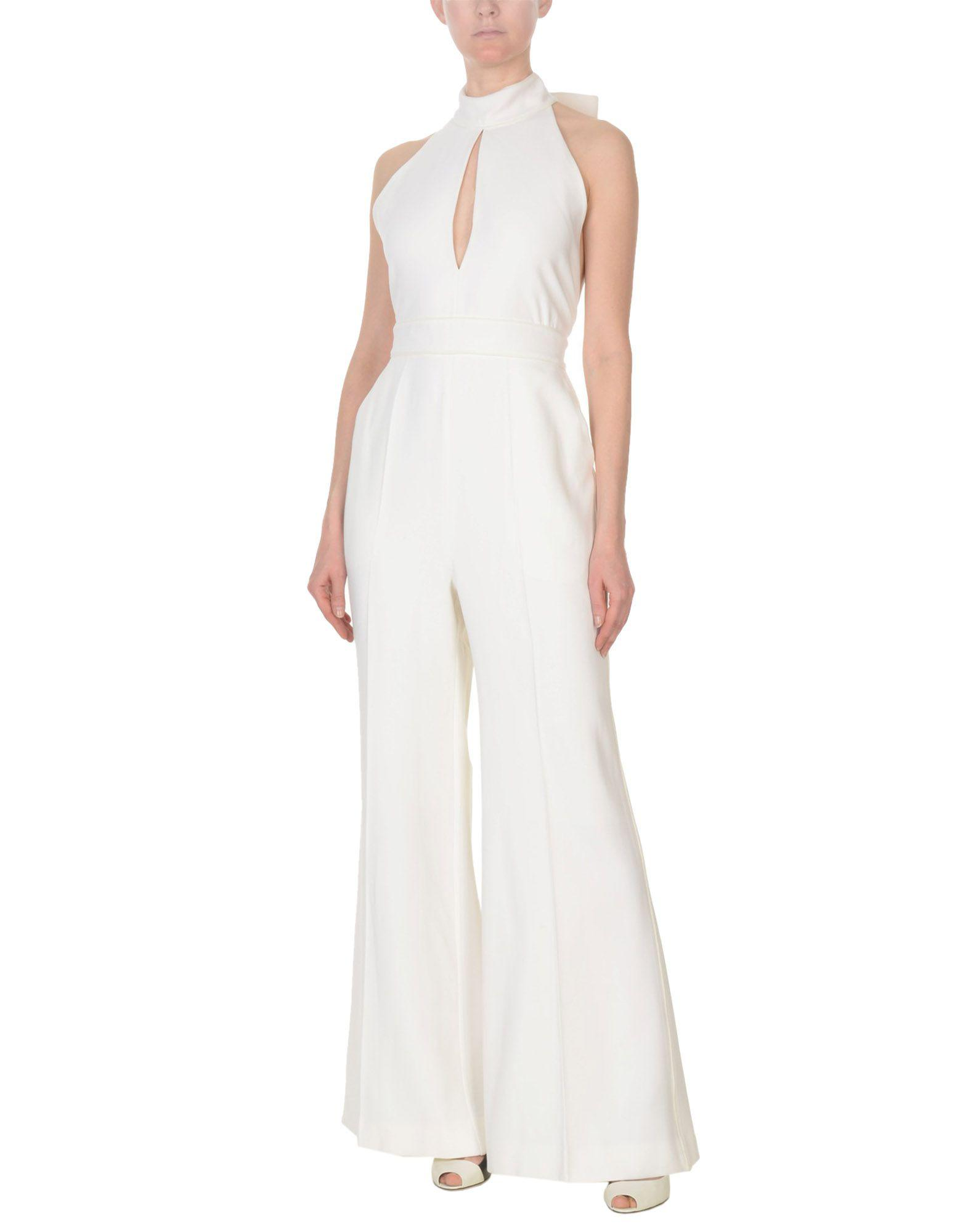 0e3378f37fa Roksanda Jumpsuit in White - Lyst