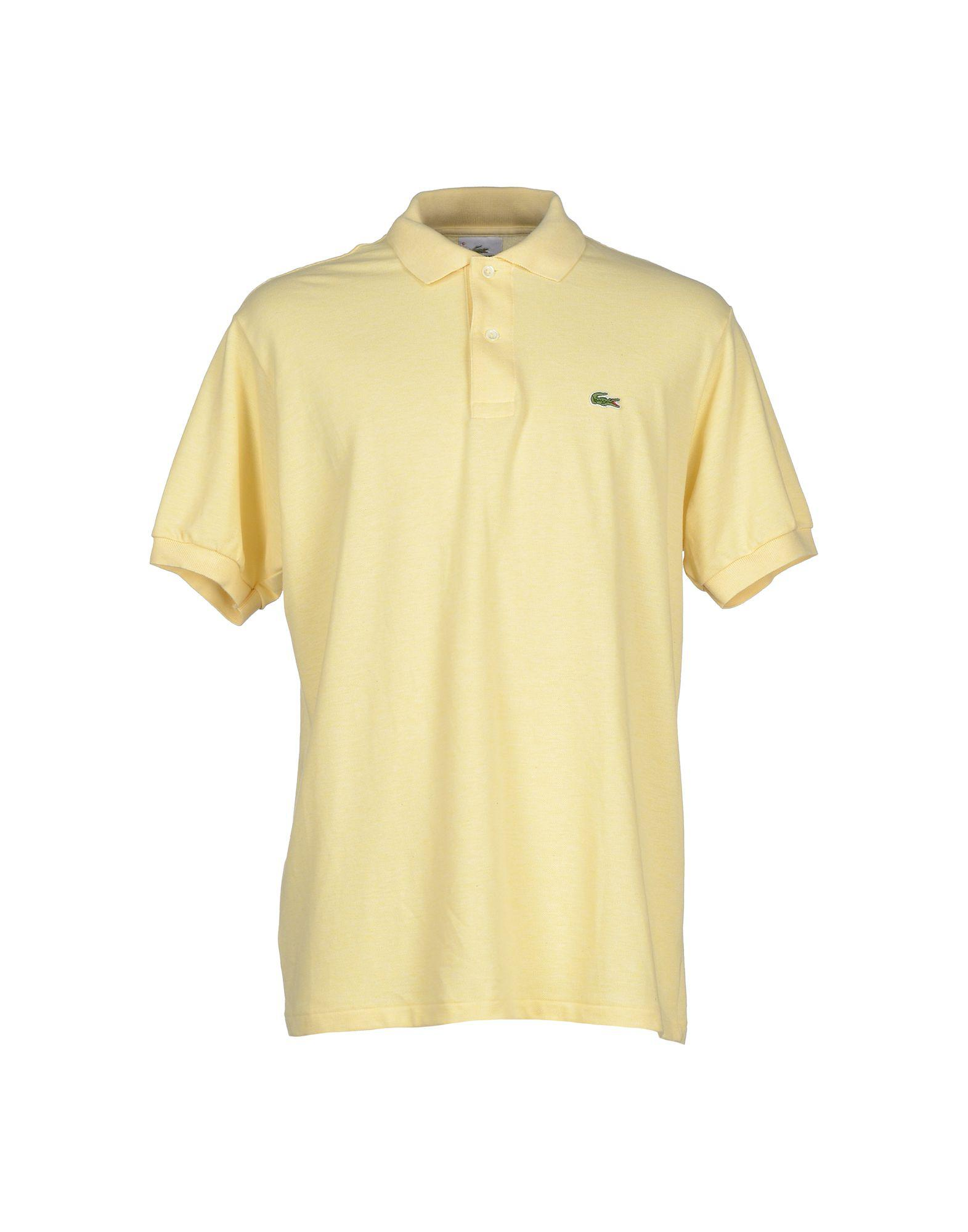 ee62166ce Lyst - Lacoste Polo Shirt in Yellow for Men