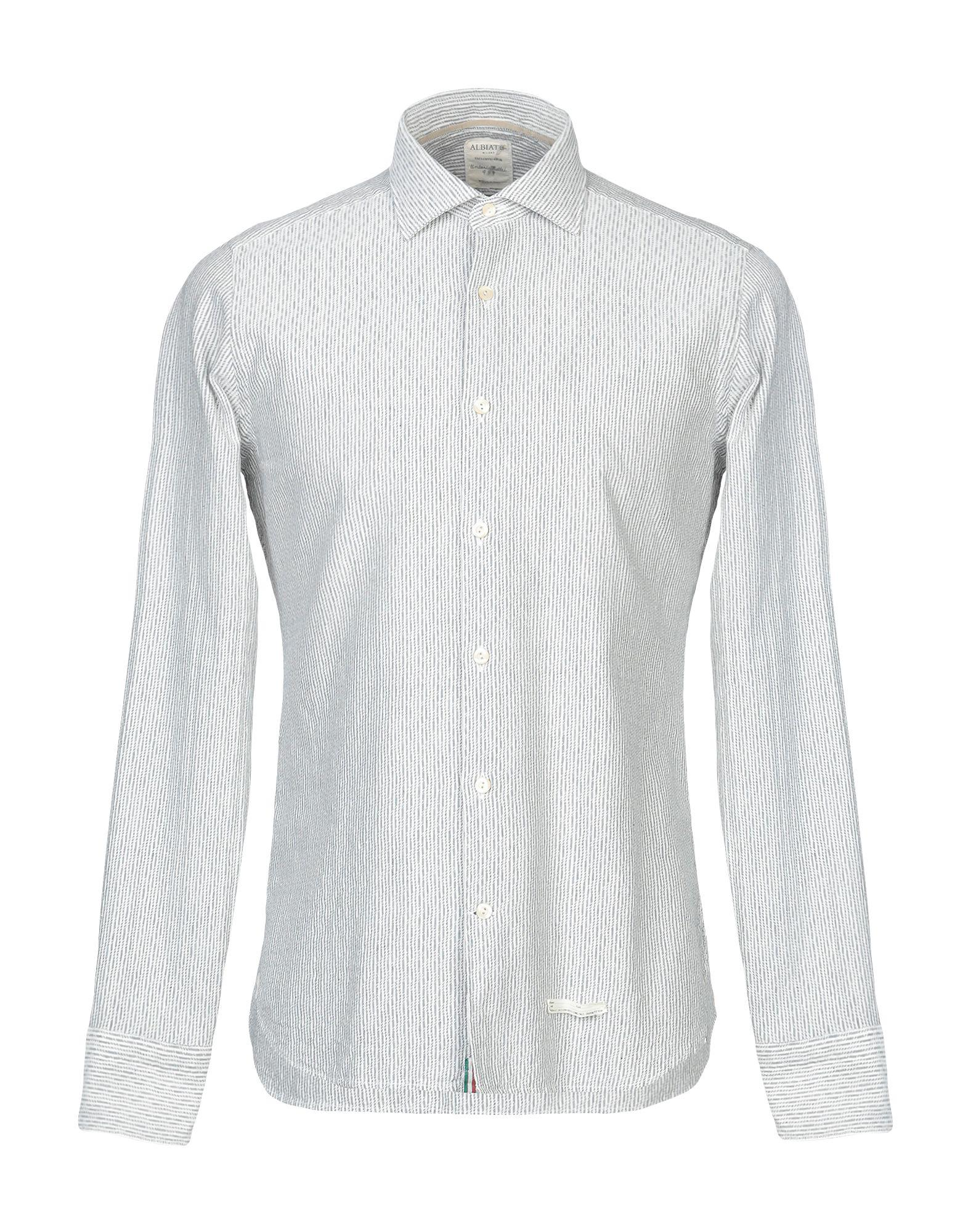 reputable site 90617 10e0e Tintoria Mattei 954 Shirt in White for Men - Lyst