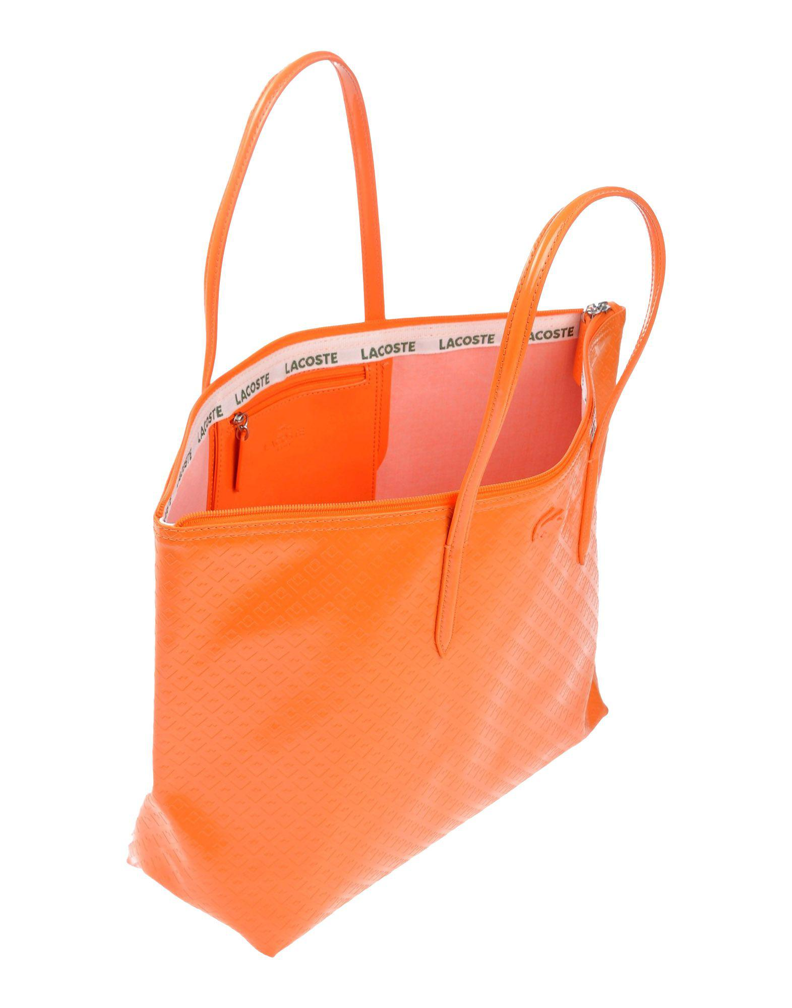 Orange Sac Coloris Main À Lacoste Lyst En xRYfwUUHq