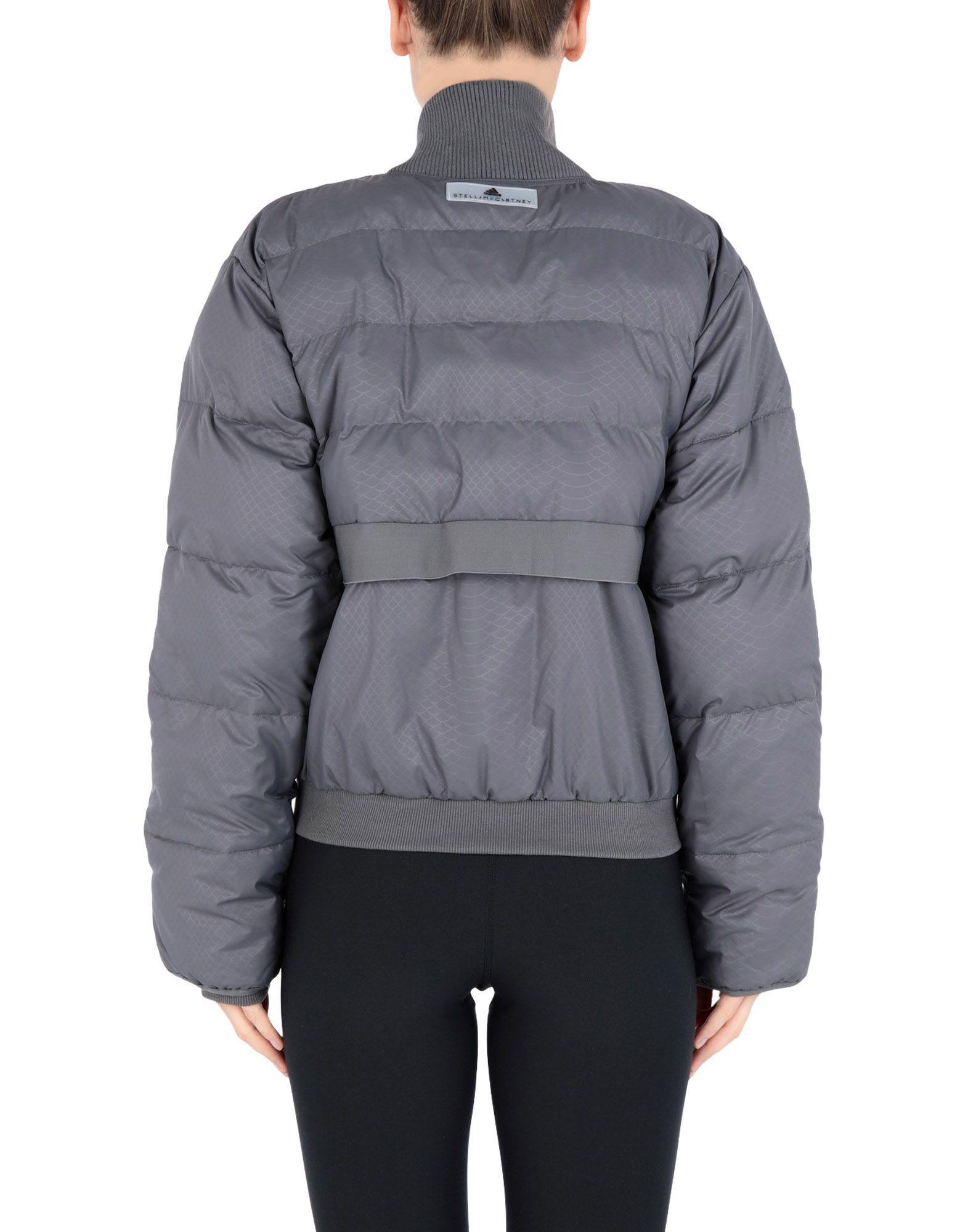 5424c864156f adidas By Stella McCartney Synthetic Down Jacket in Gray - Lyst