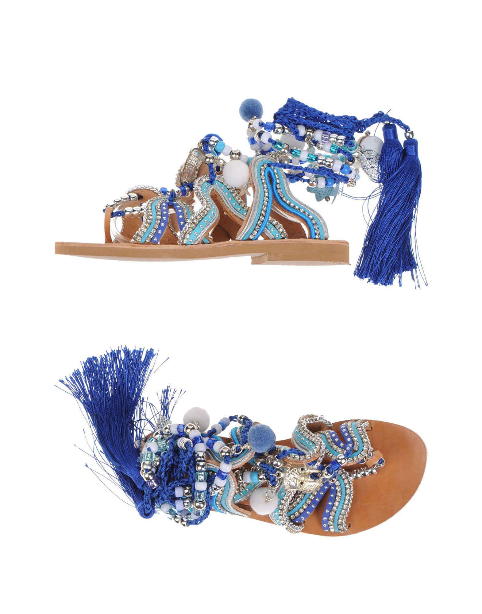 Sandals Toe Lyst Sandal Blue Gogo Strap In iTXZOPku