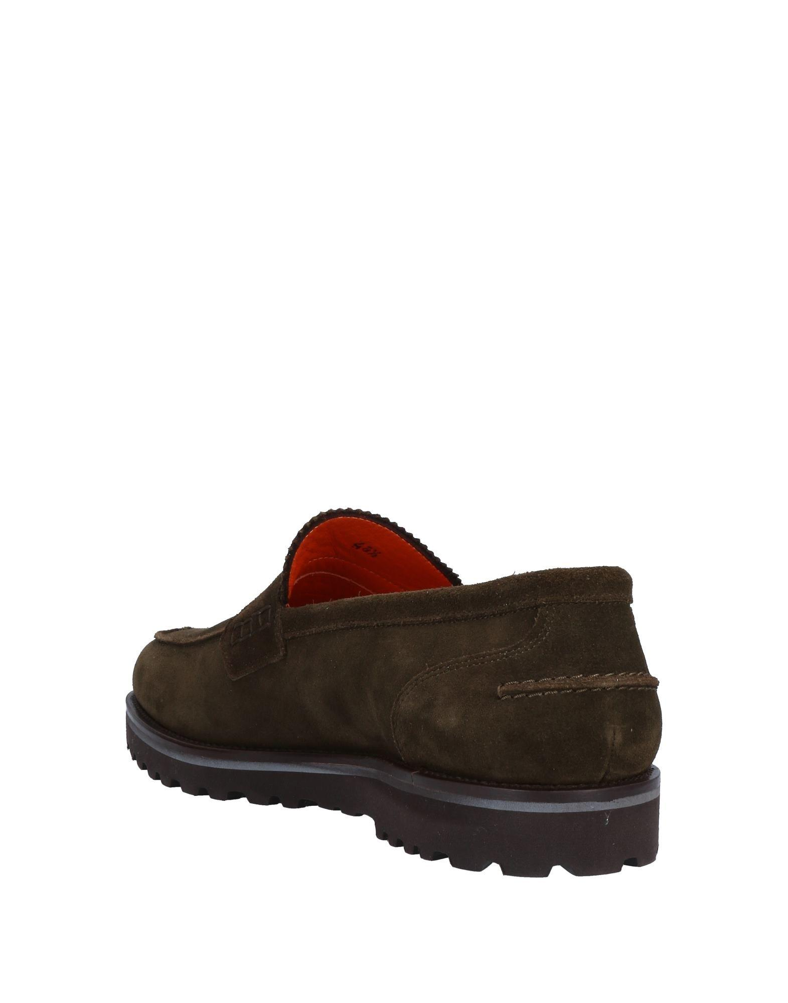 5f280bedbc2714 Lyst - Tricker's Loafer in Green for Men