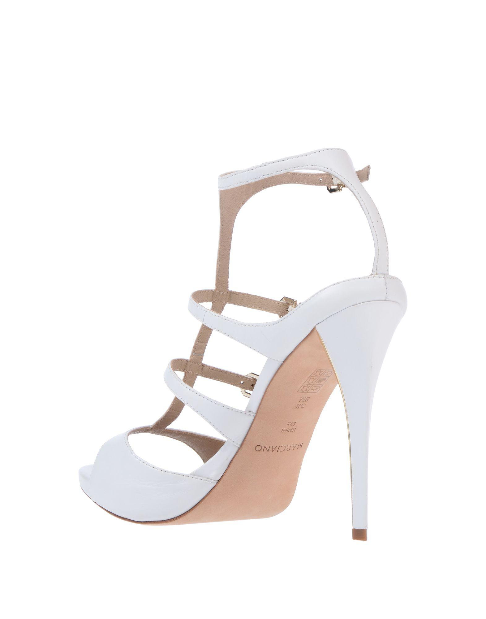 a8168d678399 Lyst - Guess Sandals in White