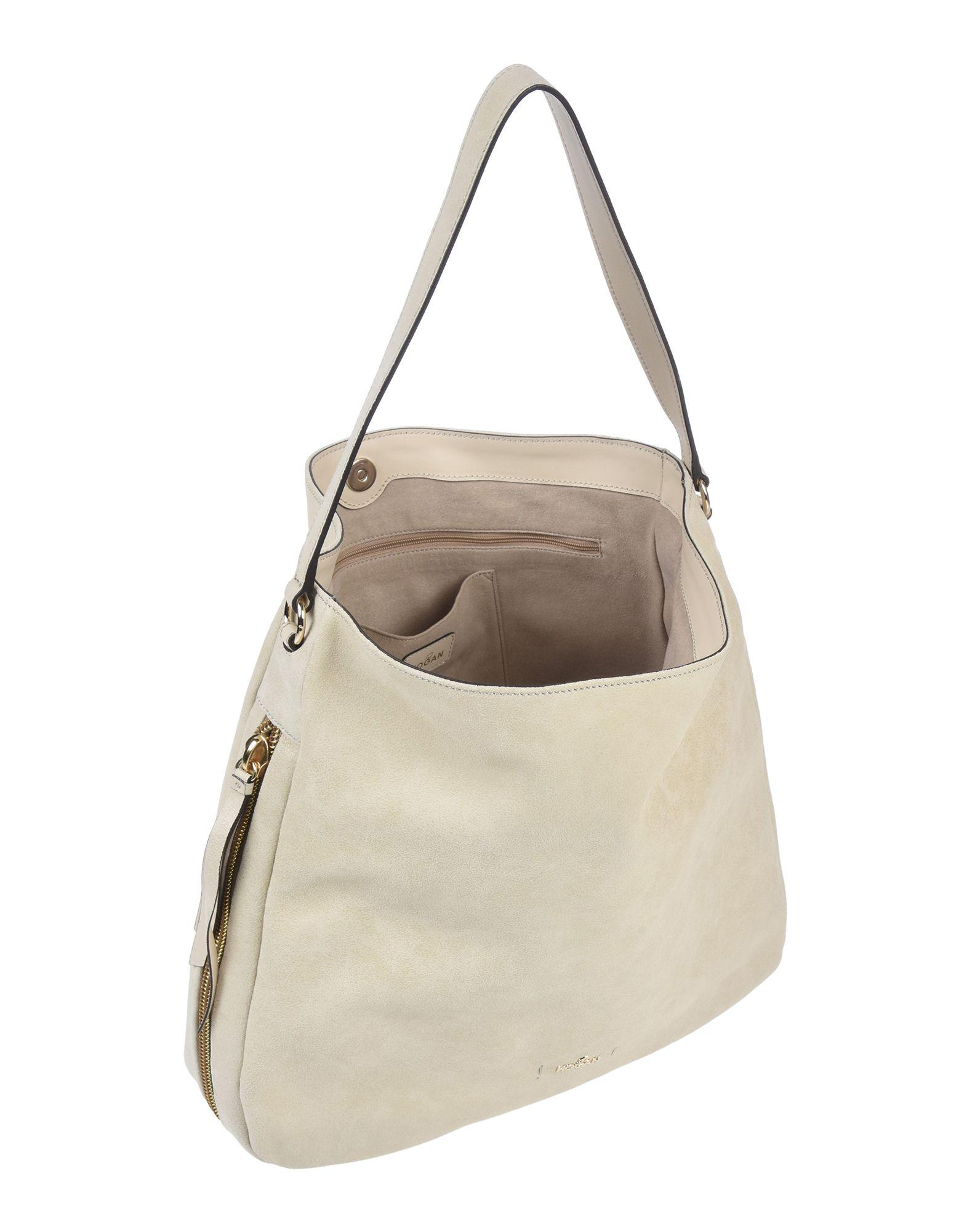 Hogan Handbag in Natural - Lyst 9861e84856883