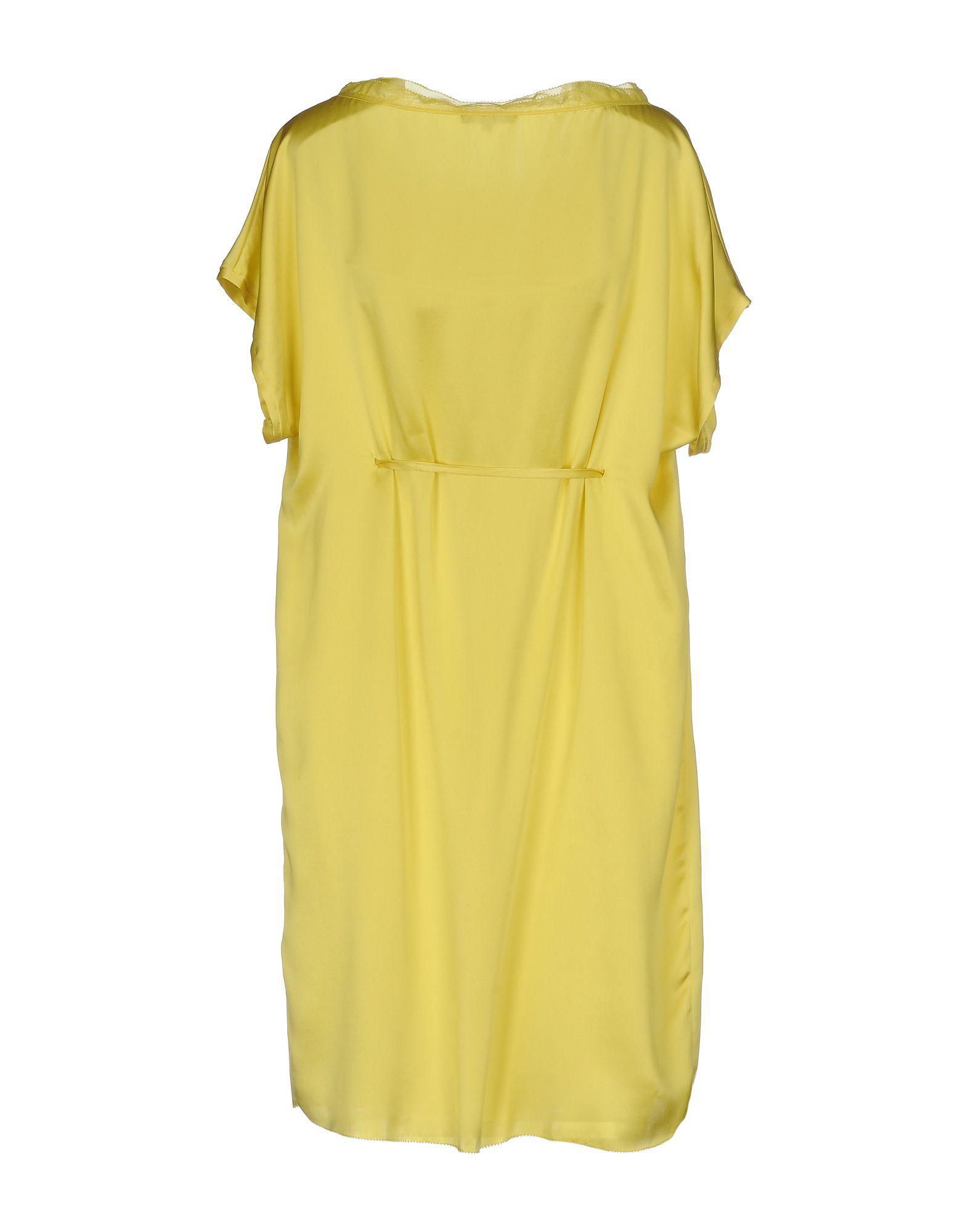 Robes - Courtes Robes De Soie Et Soie 2PVIit5