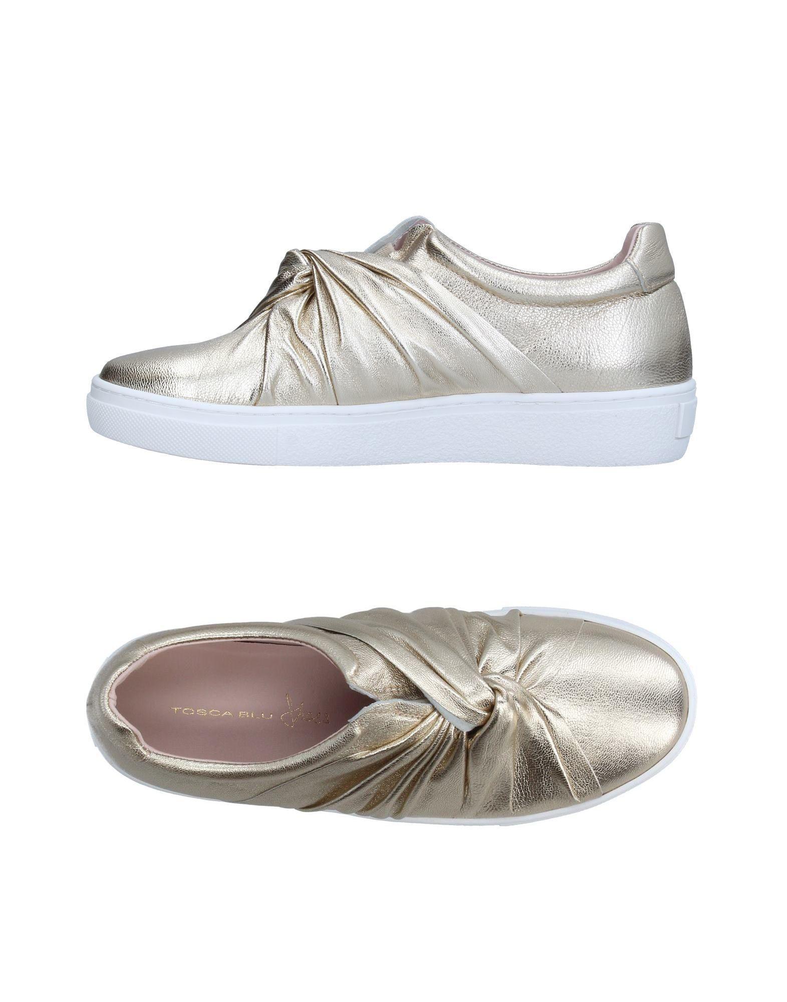 Blu Chaussures Basses Tosca-tops Et Baskets mvXgh9X