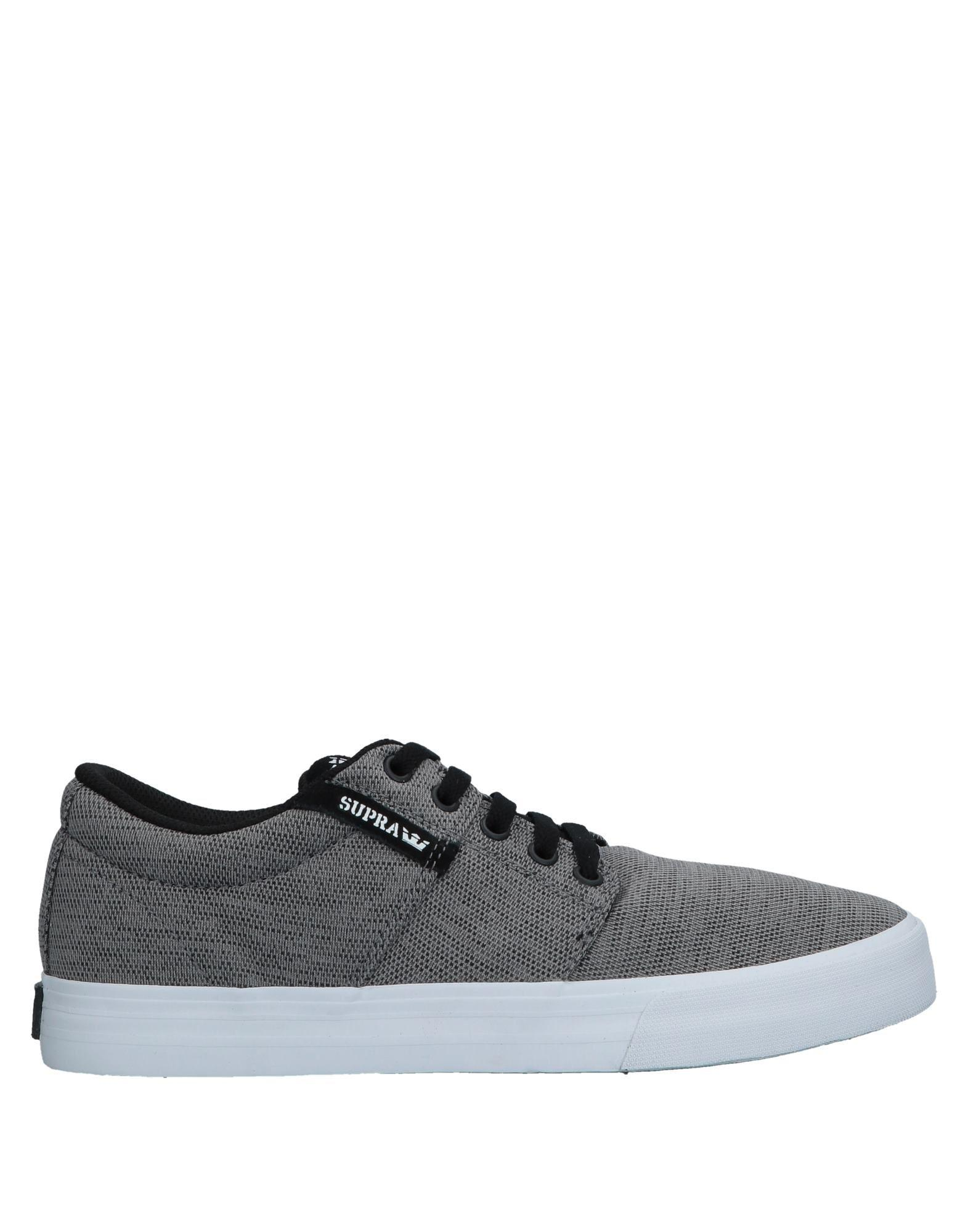 cdb0ee2852 Lyst - Supra Low-tops & Sneakers in Gray for Men