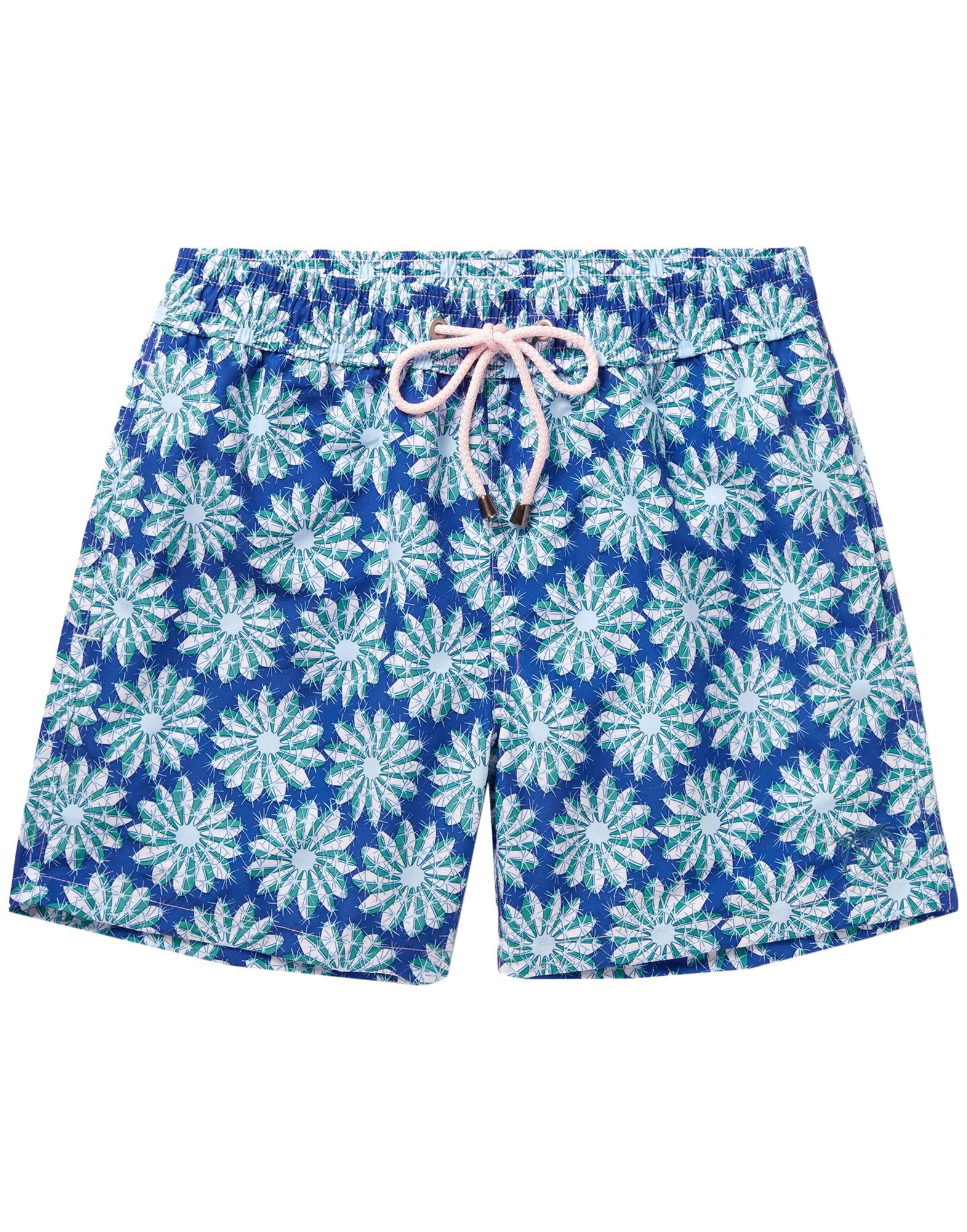 c24713724ce6f Lyst - Pink House Mustique Swimming Trunks in Blue for Men