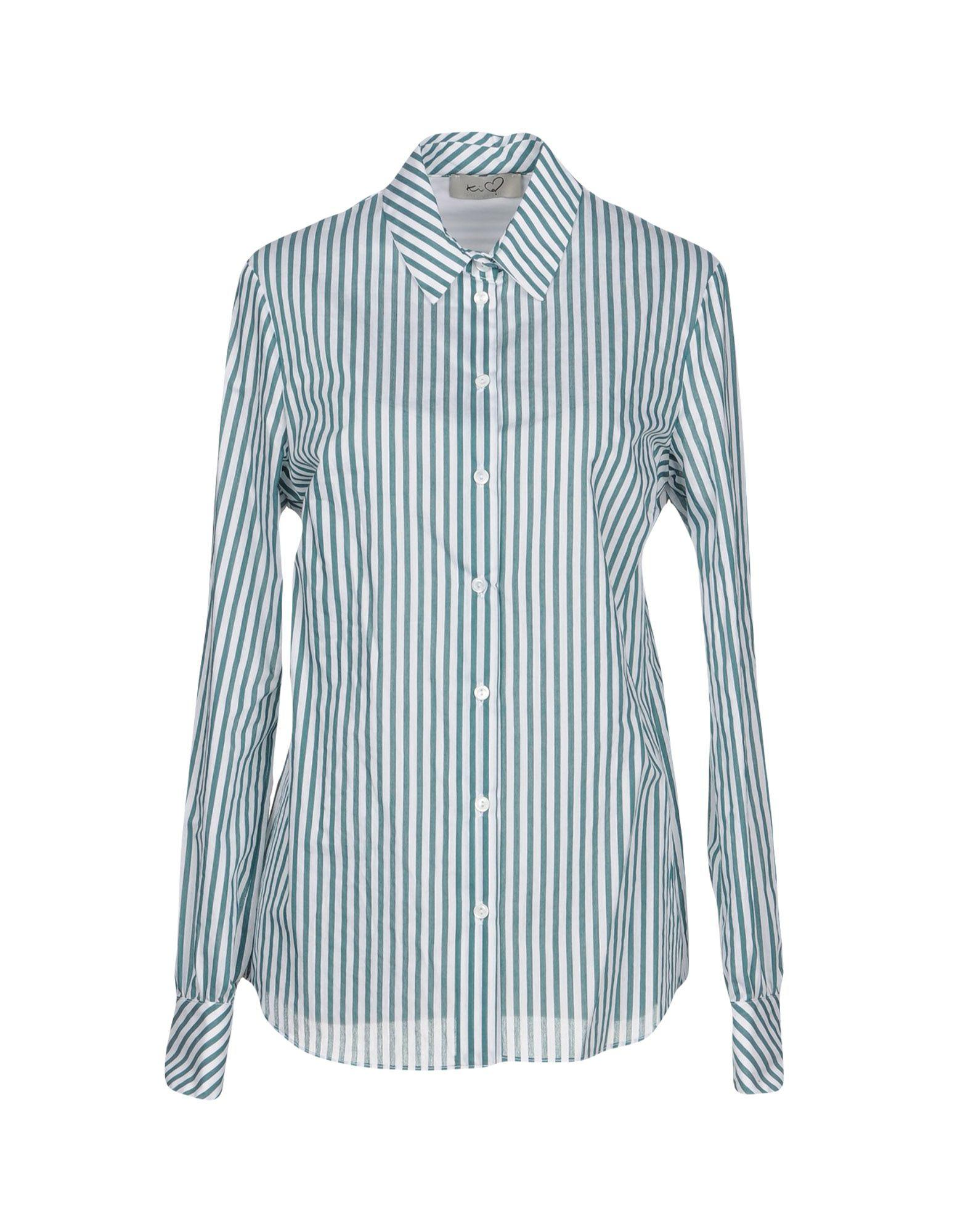 Blue and white striped blouse Ki6? Who are you? Cheap Prices Authentic Buy Cheap Big Sale Clearance Store Cheap Online Cheap Great Deals Outlet Free Shipping Authentic qY4I4GL3