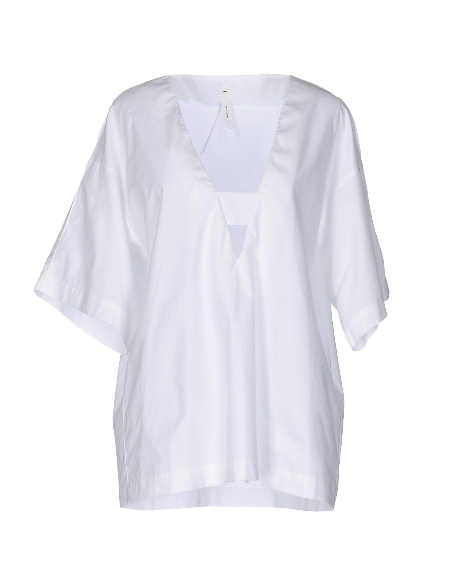 5fa3f79c8cb200 Damir Doma Blouse in White - Lyst