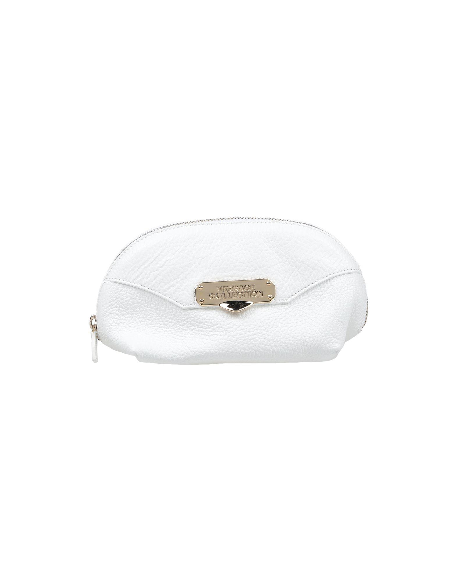 0765ed3d05da Lyst - Versace Pouch in White