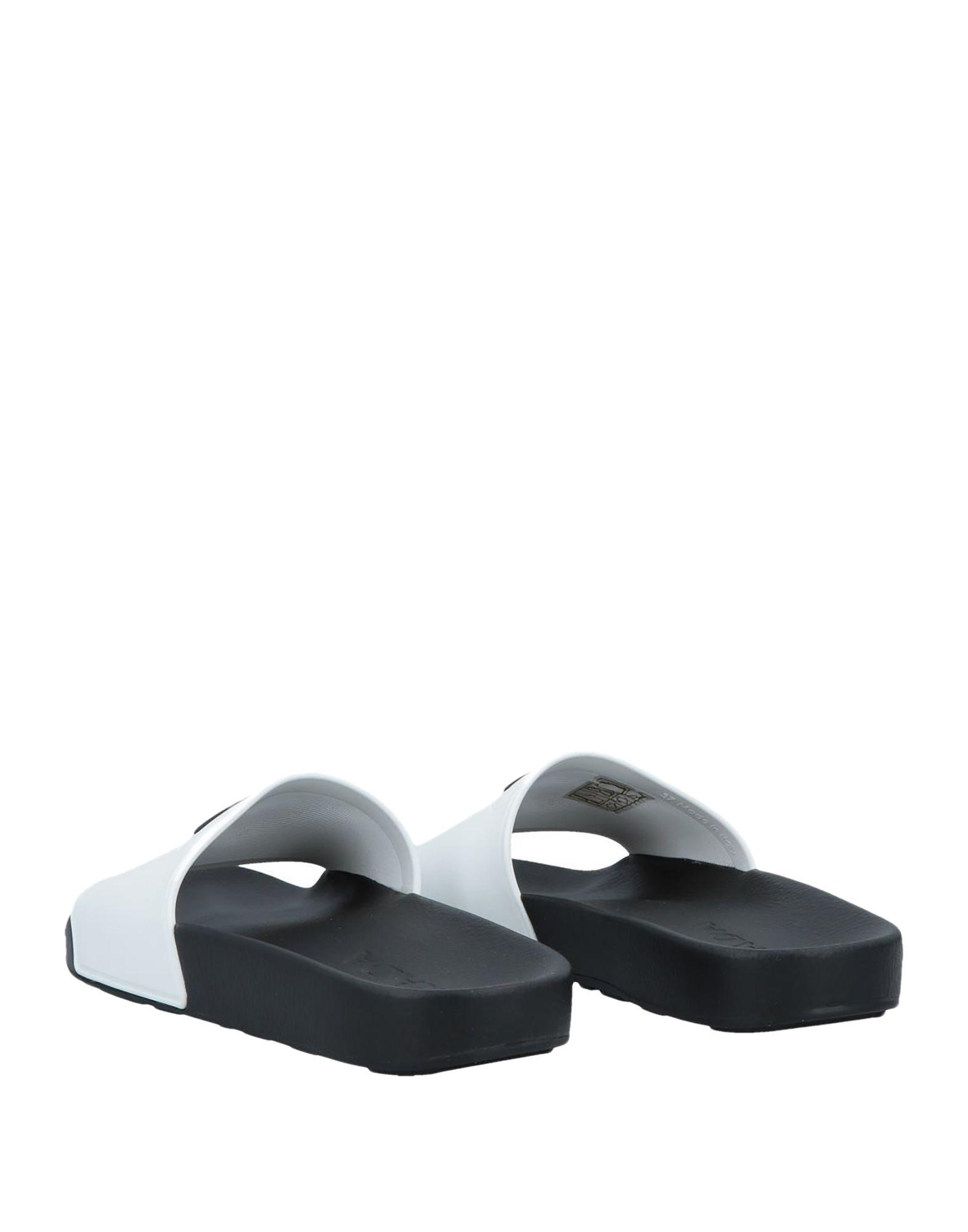 Lyst - Prada Logo Slides in White - Save 60% 5f60af3bee6